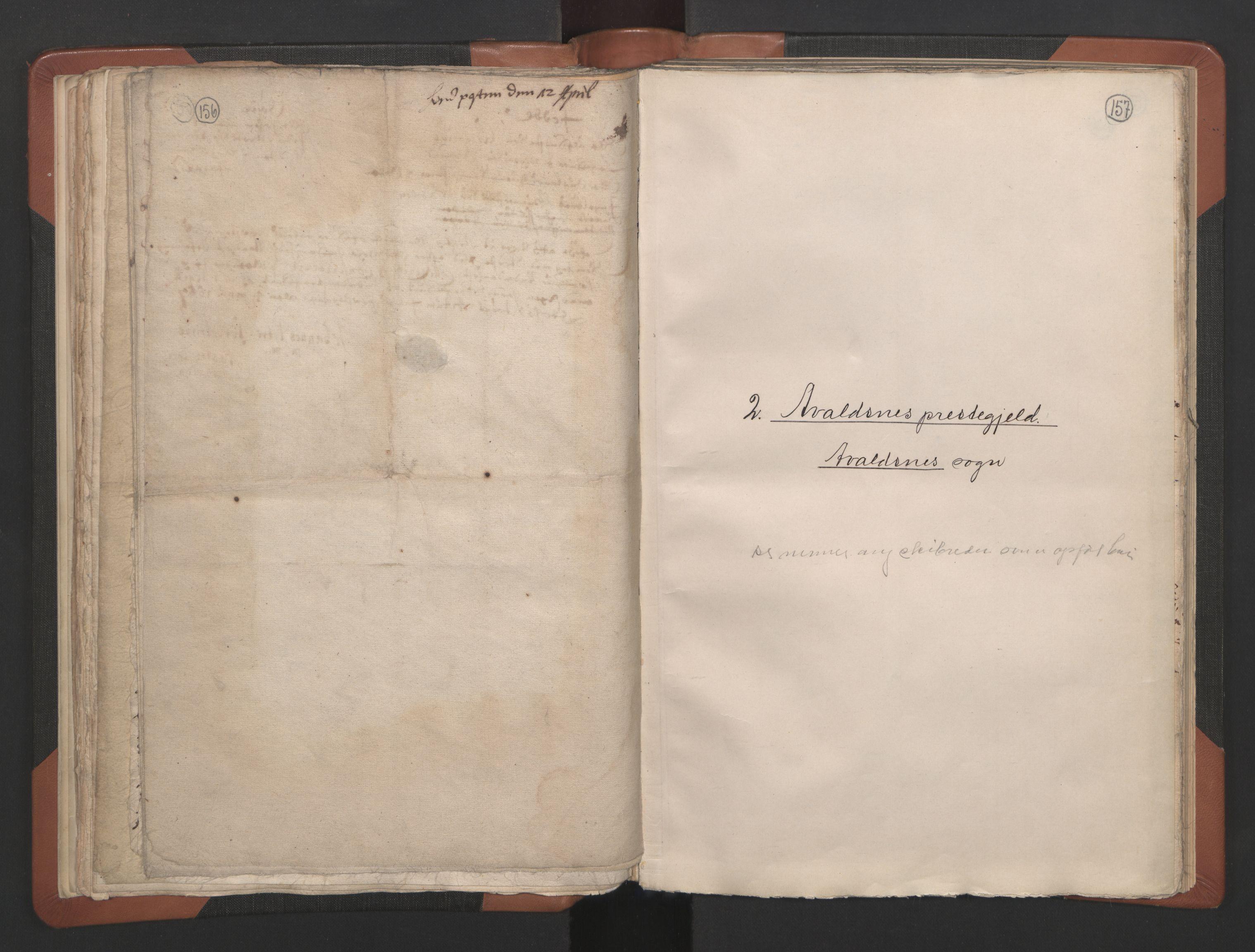 RA, Sogneprestenes manntall 1664-1666, nr. 18: Stavanger prosti og Karmsund prosti, 1664-1666, s. 156-157