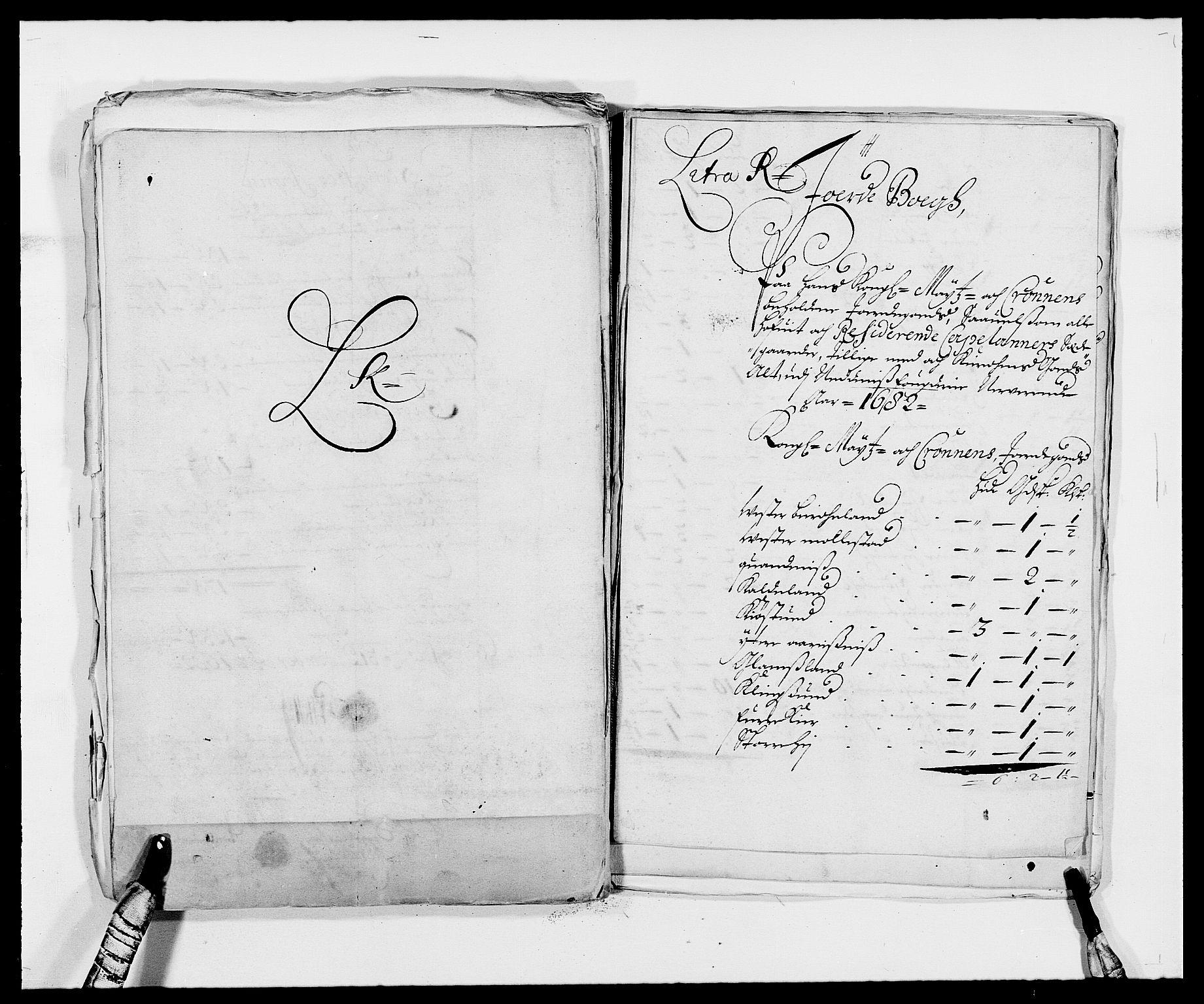 RA, Rentekammeret inntil 1814, Reviderte regnskaper, Fogderegnskap, R39/L2304: Fogderegnskap Nedenes, 1680-1682, s. 397