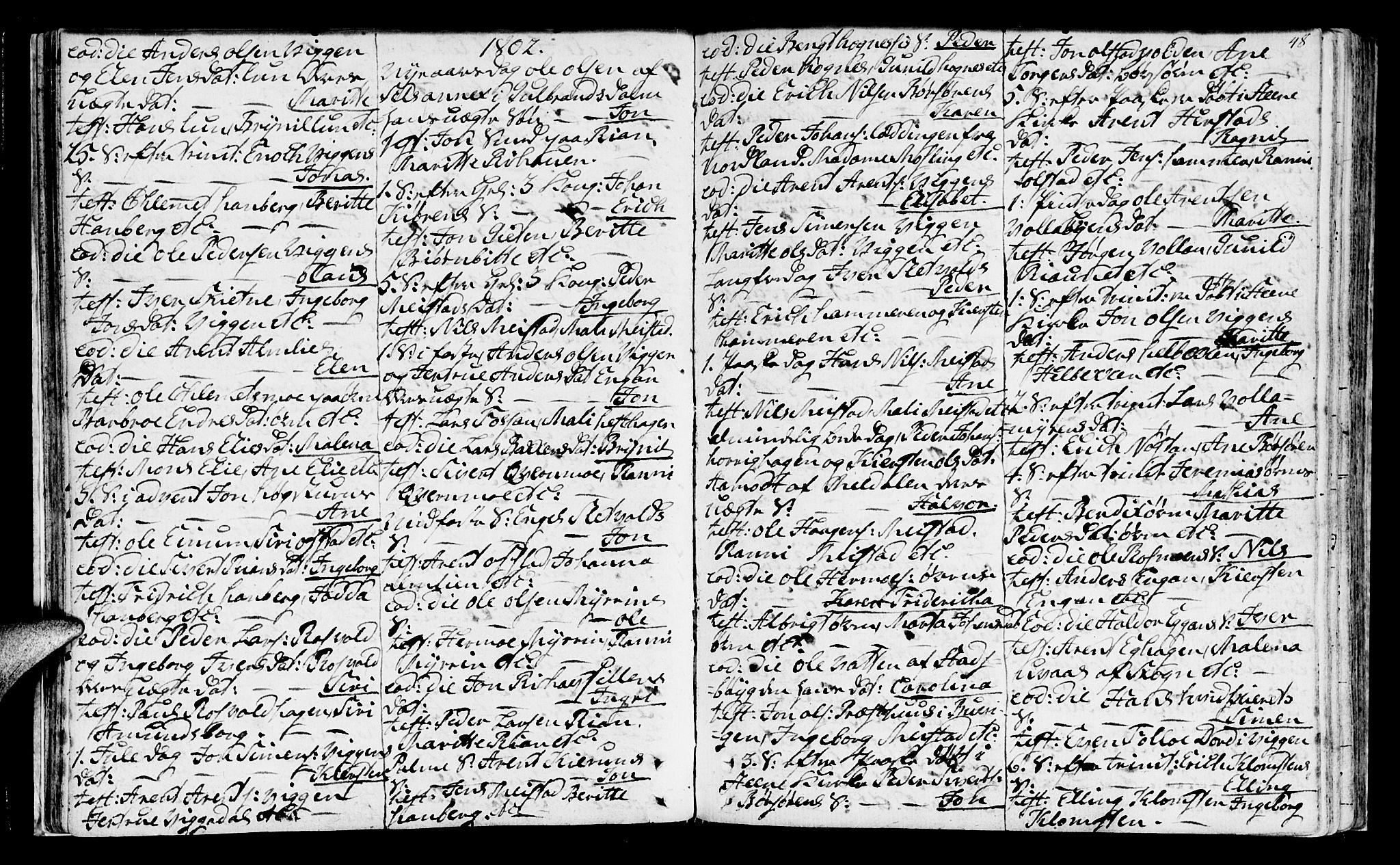 SAT, Ministerialprotokoller, klokkerbøker og fødselsregistre - Sør-Trøndelag, 665/L0768: Ministerialbok nr. 665A03, 1754-1803, s. 48
