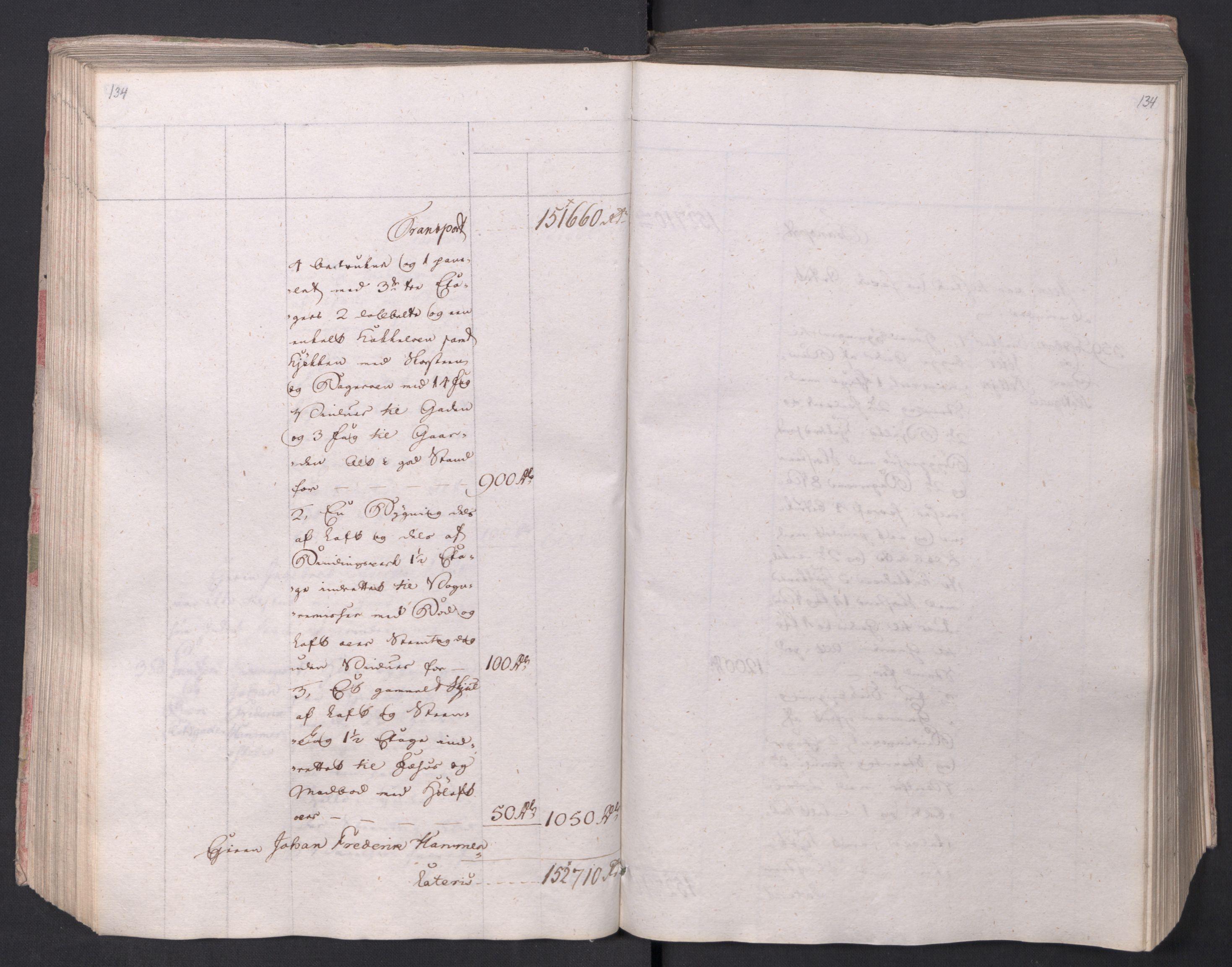 SAO, Kristiania stiftamt, I/Ia/L0015: Branntakster, 1797, s. 134