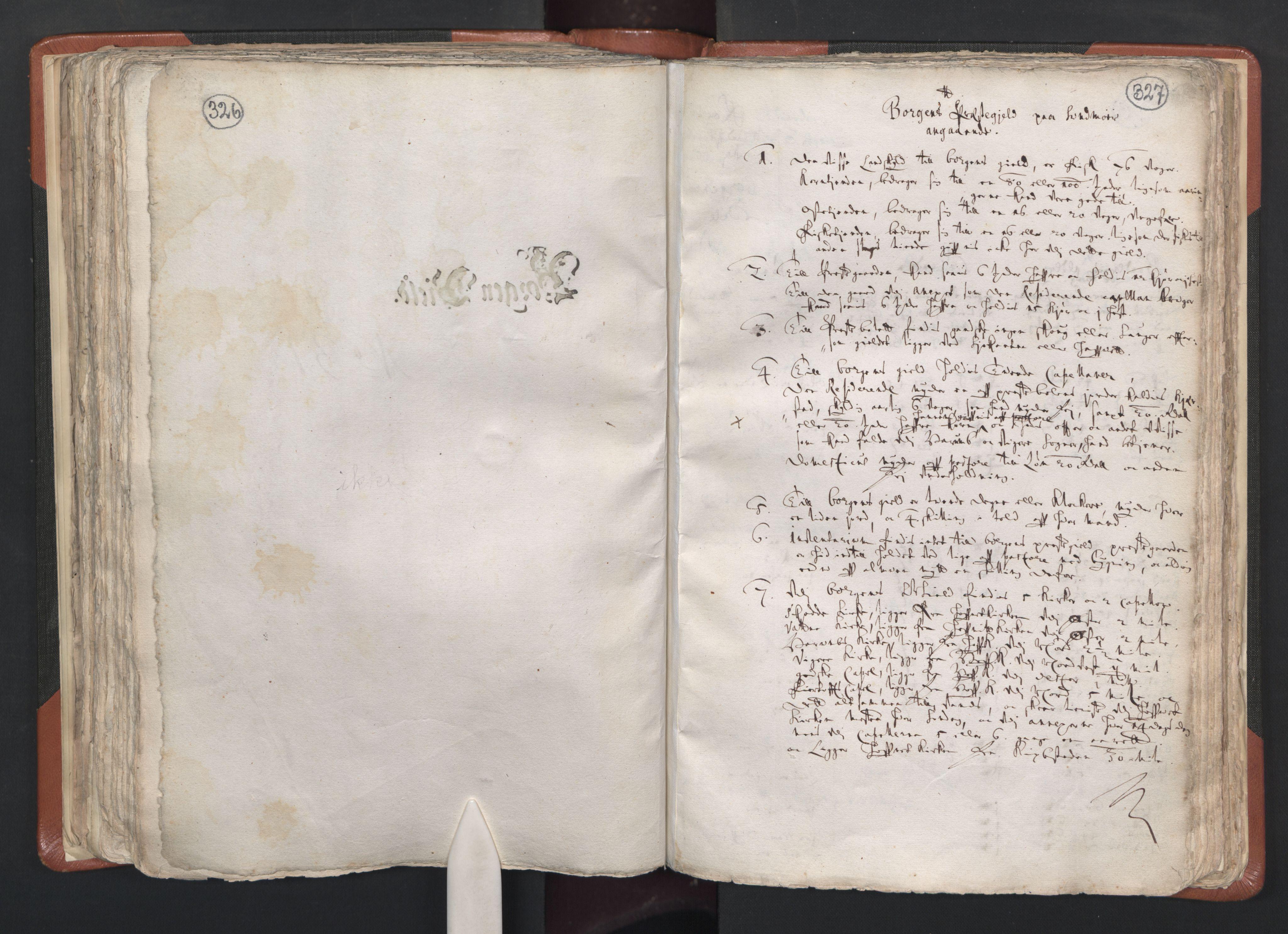 RA, Sogneprestenes manntall 1664-1666, nr. 26: Sunnmøre prosti, 1664-1666, s. 326-327