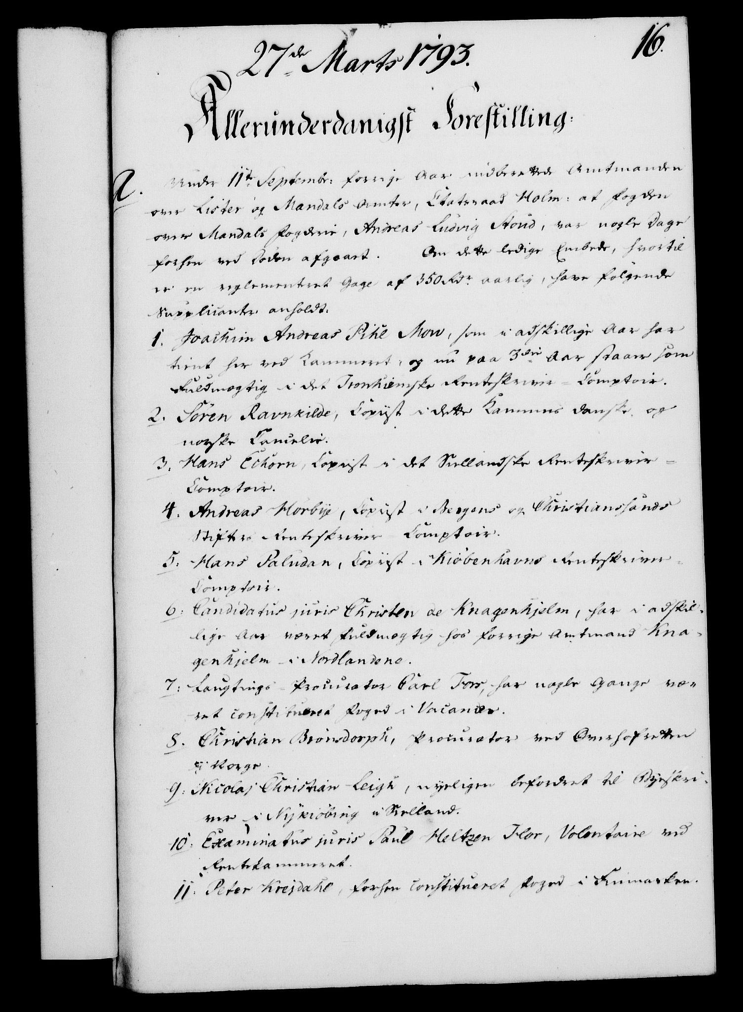 RA, Rentekammeret, Kammerkanselliet, G/Gf/Gfa/L0075: Norsk relasjons- og resolusjonsprotokoll (merket RK 52.75), 1793, s. 86