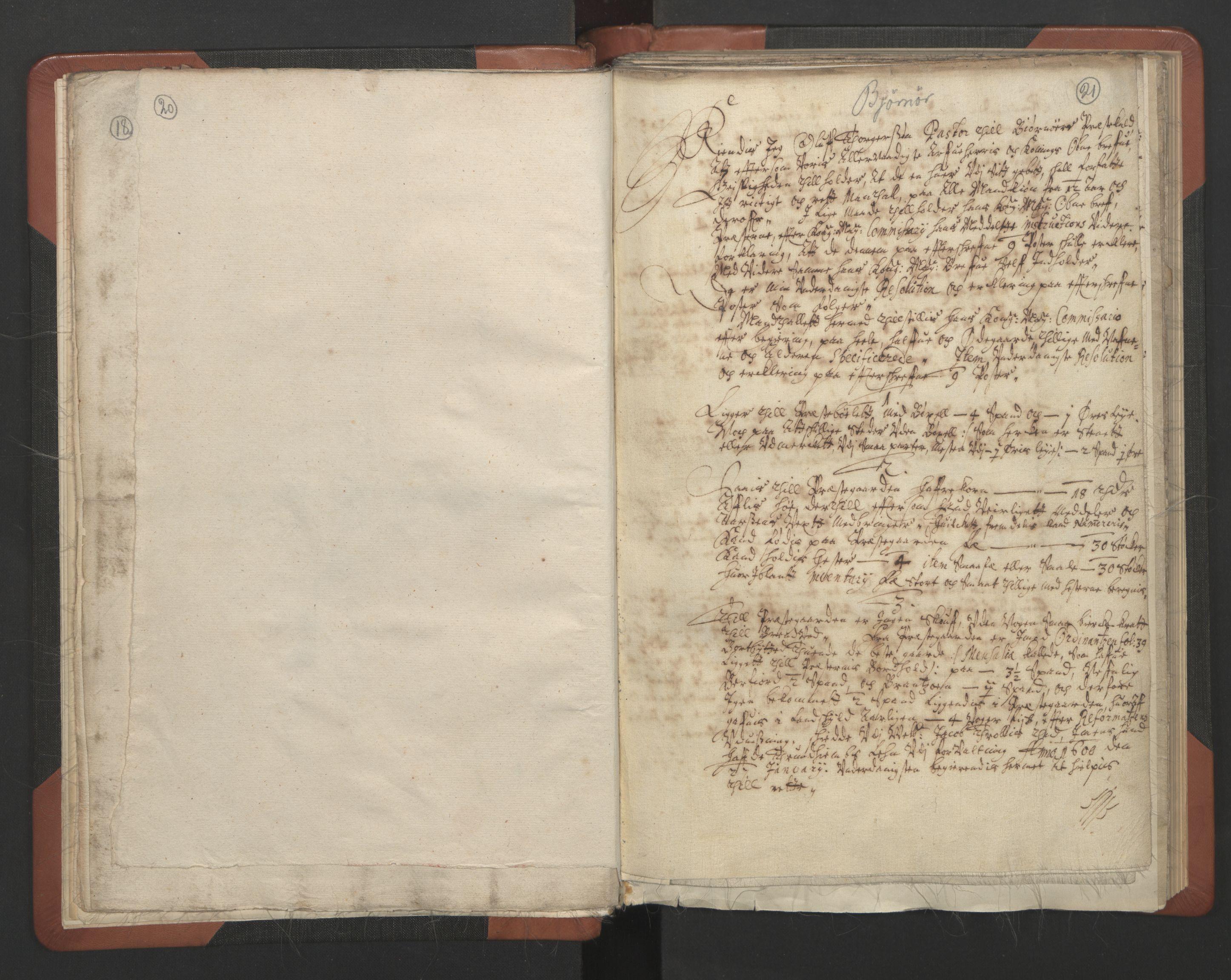RA, Sogneprestenes manntall 1664-1666, nr. 30: Fosen prosti, 1664-1666, s. 20-21