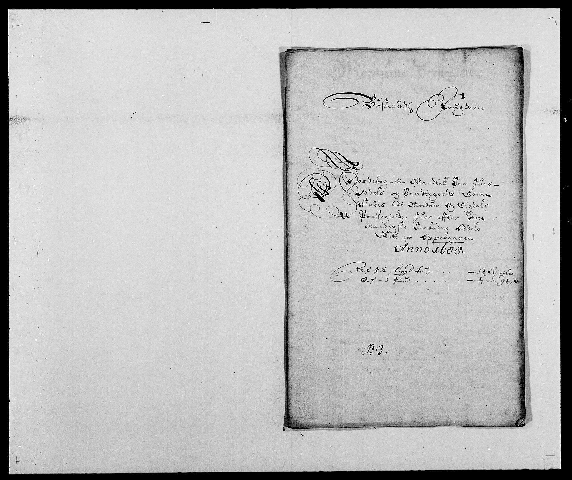 RA, Rentekammeret inntil 1814, Reviderte regnskaper, Fogderegnskap, R25/L1679: Fogderegnskap Buskerud, 1687-1688, s. 393