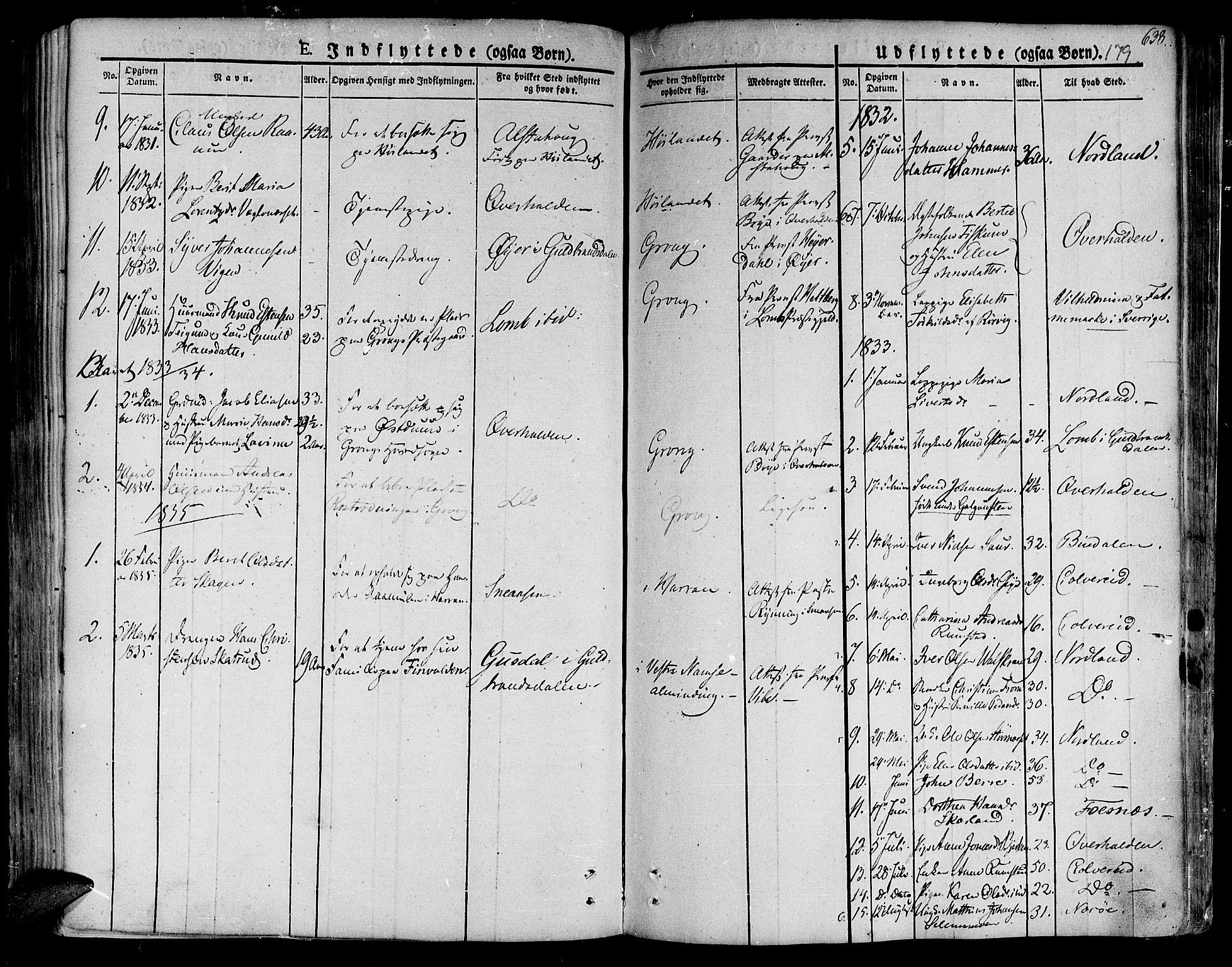 SAT, Ministerialprotokoller, klokkerbøker og fødselsregistre - Nord-Trøndelag, 758/L0510: Ministerialbok nr. 758A01 /1, 1821-1841, s. 179