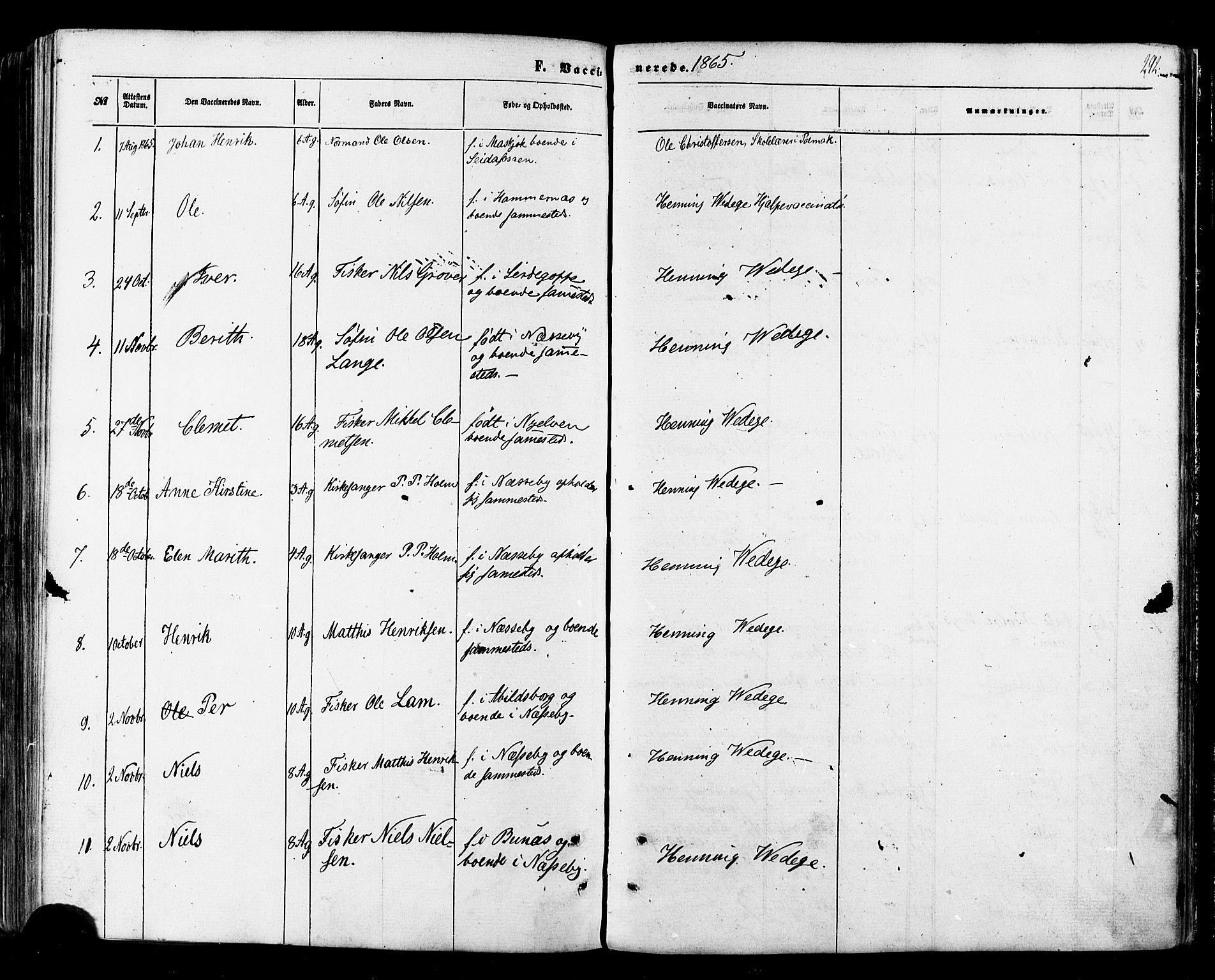 SATØ, Nesseby sokneprestkontor, H/Ha/L0003kirke: Ministerialbok nr. 3 /1, 1865-1876, s. 292