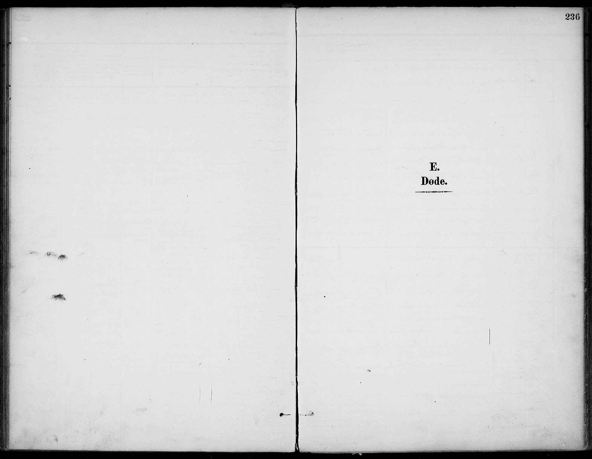 SAKO, Gjerpen kirkebøker, F/Fa/L0011: Ministerialbok nr. 11, 1896-1904, s. 236