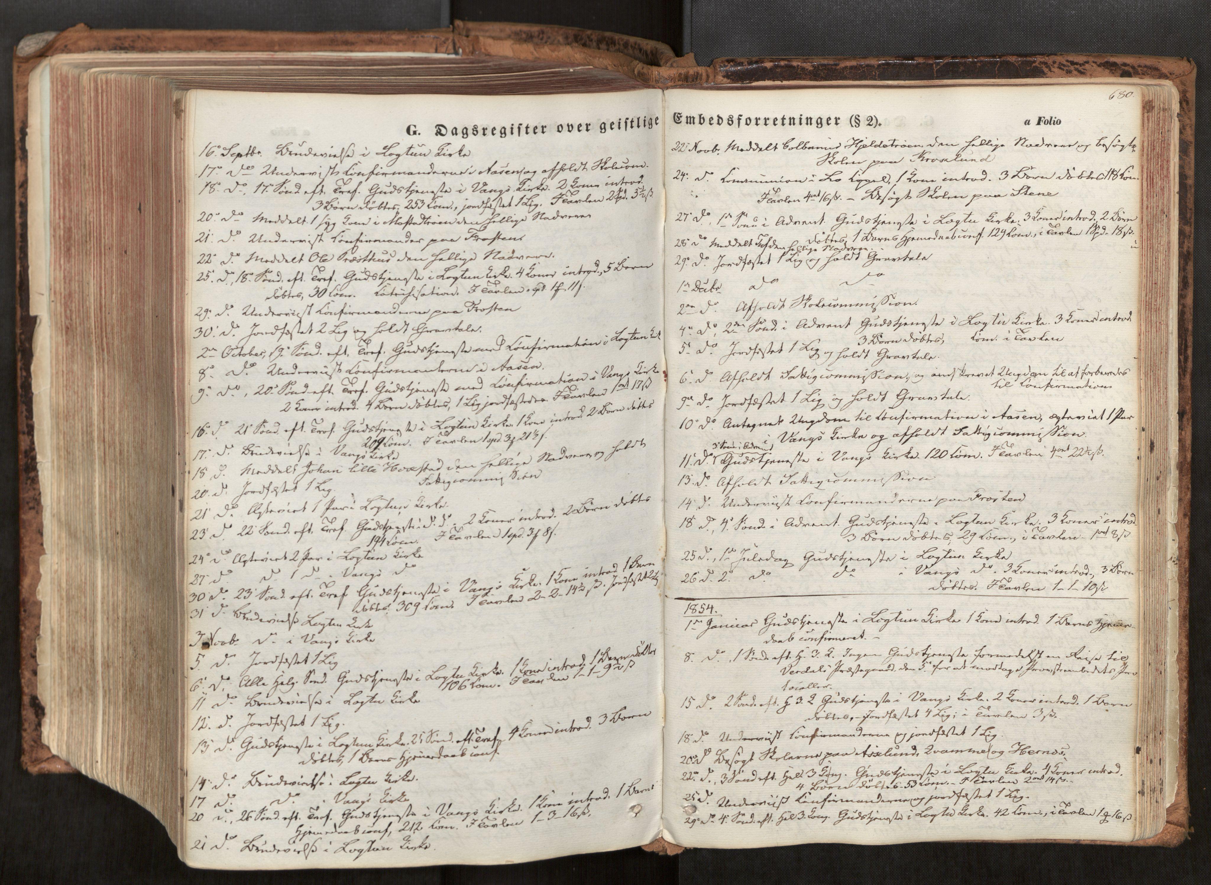SAT, Ministerialprotokoller, klokkerbøker og fødselsregistre - Nord-Trøndelag, 713/L0116: Ministerialbok nr. 713A07, 1850-1877, s. 680