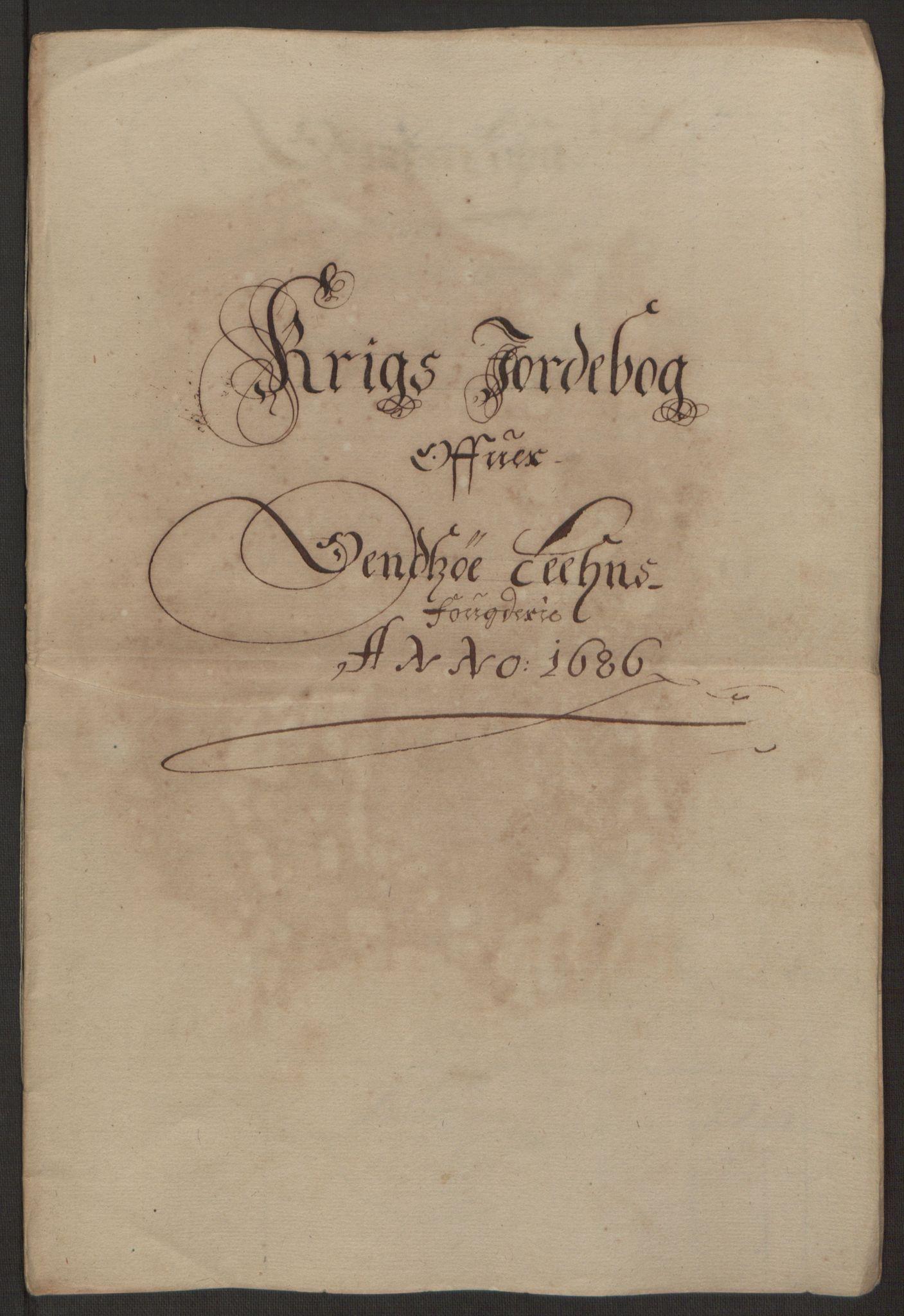 RA, Rentekammeret inntil 1814, Reviderte regnskaper, Fogderegnskap, R03/L0118: Fogderegnskap Onsøy, Tune, Veme og Åbygge fogderi, 1684-1689, s. 196
