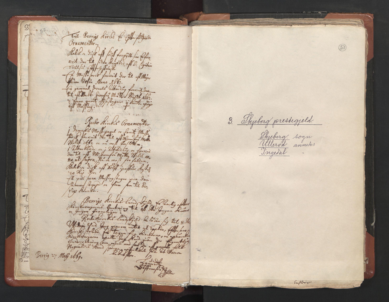 RA, Sogneprestenes manntall 1664-1666, nr. 1: Nedre Borgesyssel prosti, 1664-1666, s. 50-51