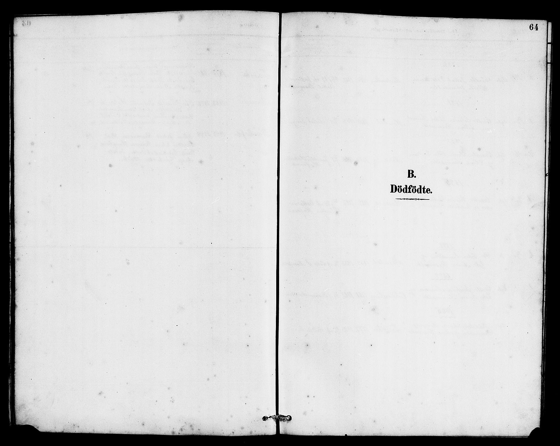 SAB, Eid Sokneprestembete, H/Hab: Klokkerbok nr. C 2, 1887-1906, s. 64