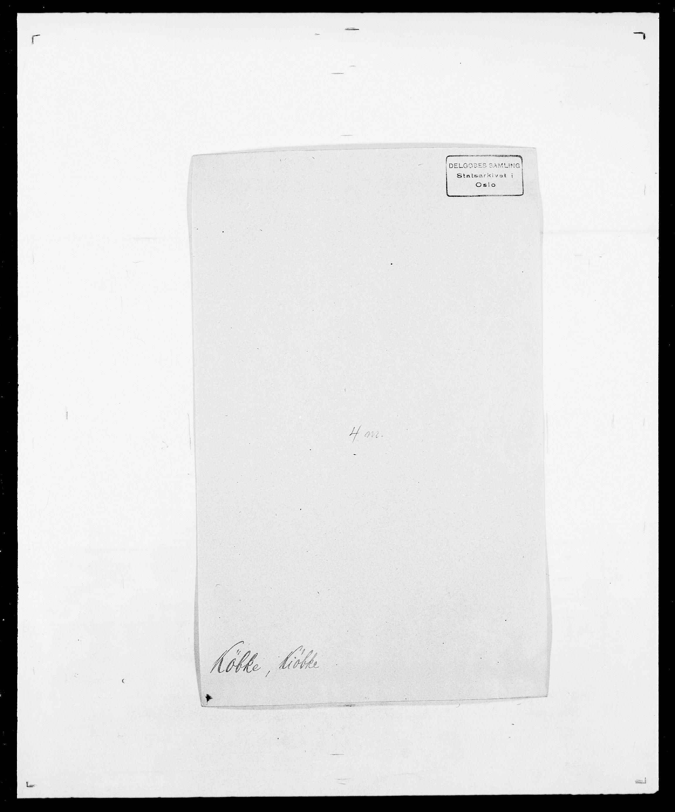 SAO, Delgobe, Charles Antoine - samling, D/Da/L0022: Krog - Lasteen, s. 291