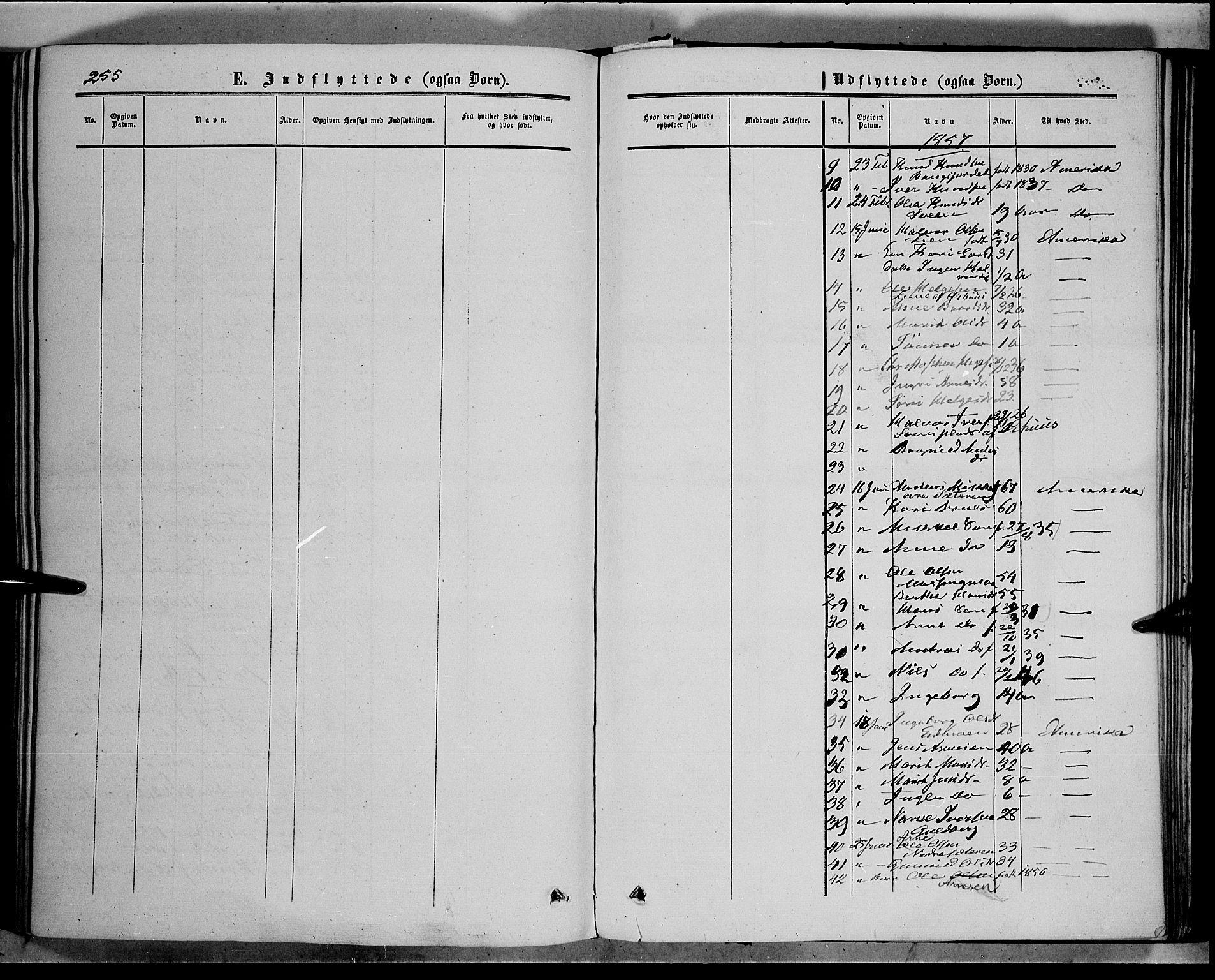 SAH, Sør-Aurdal prestekontor, Ministerialbok nr. 5, 1849-1876, s. 255