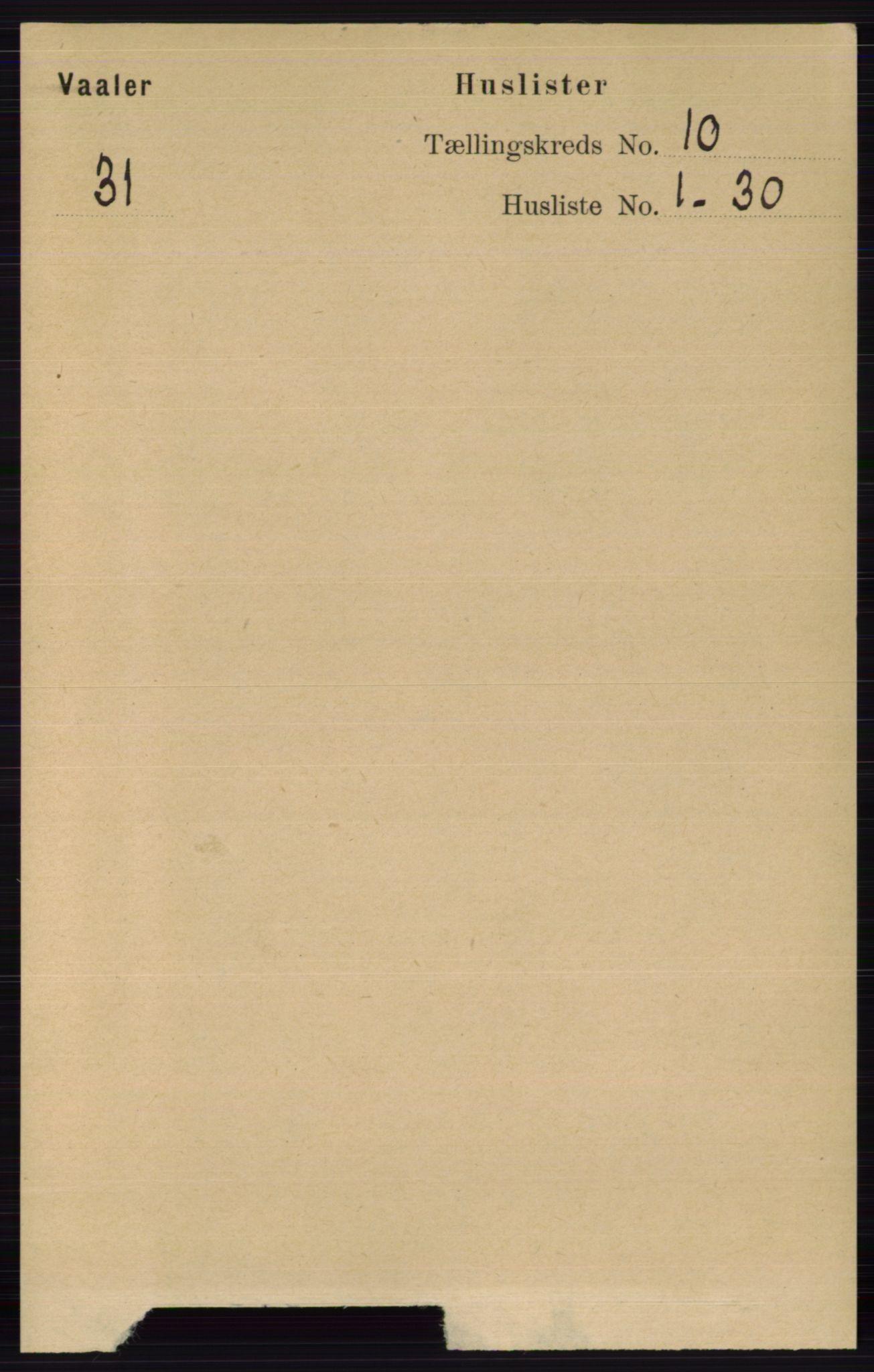 RA, Folketelling 1891 for 0426 Våler herred, 1891, s. 4116