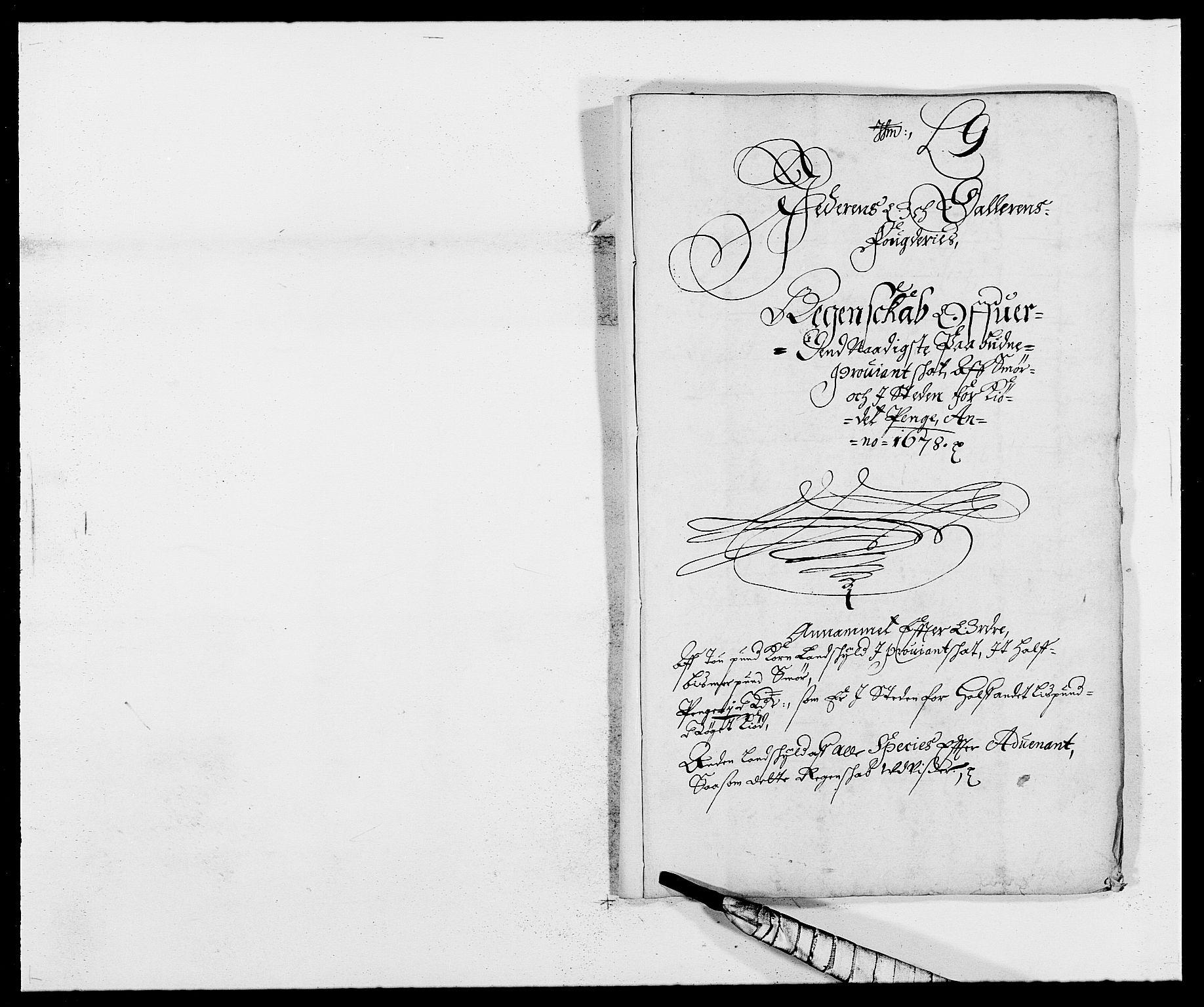 RA, Rentekammeret inntil 1814, Reviderte regnskaper, Fogderegnskap, R46/L2718: Fogderegnskap Jæren og Dalane, 1678, s. 204