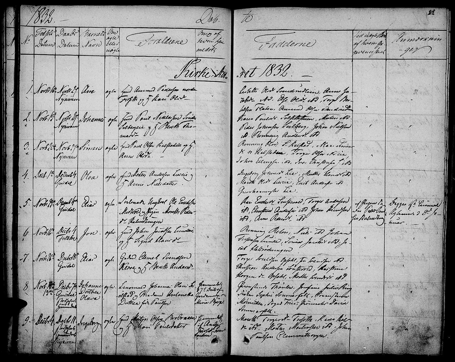SAH, Gausdal prestekontor, Ministerialbok nr. 6, 1830-1839, s. 28