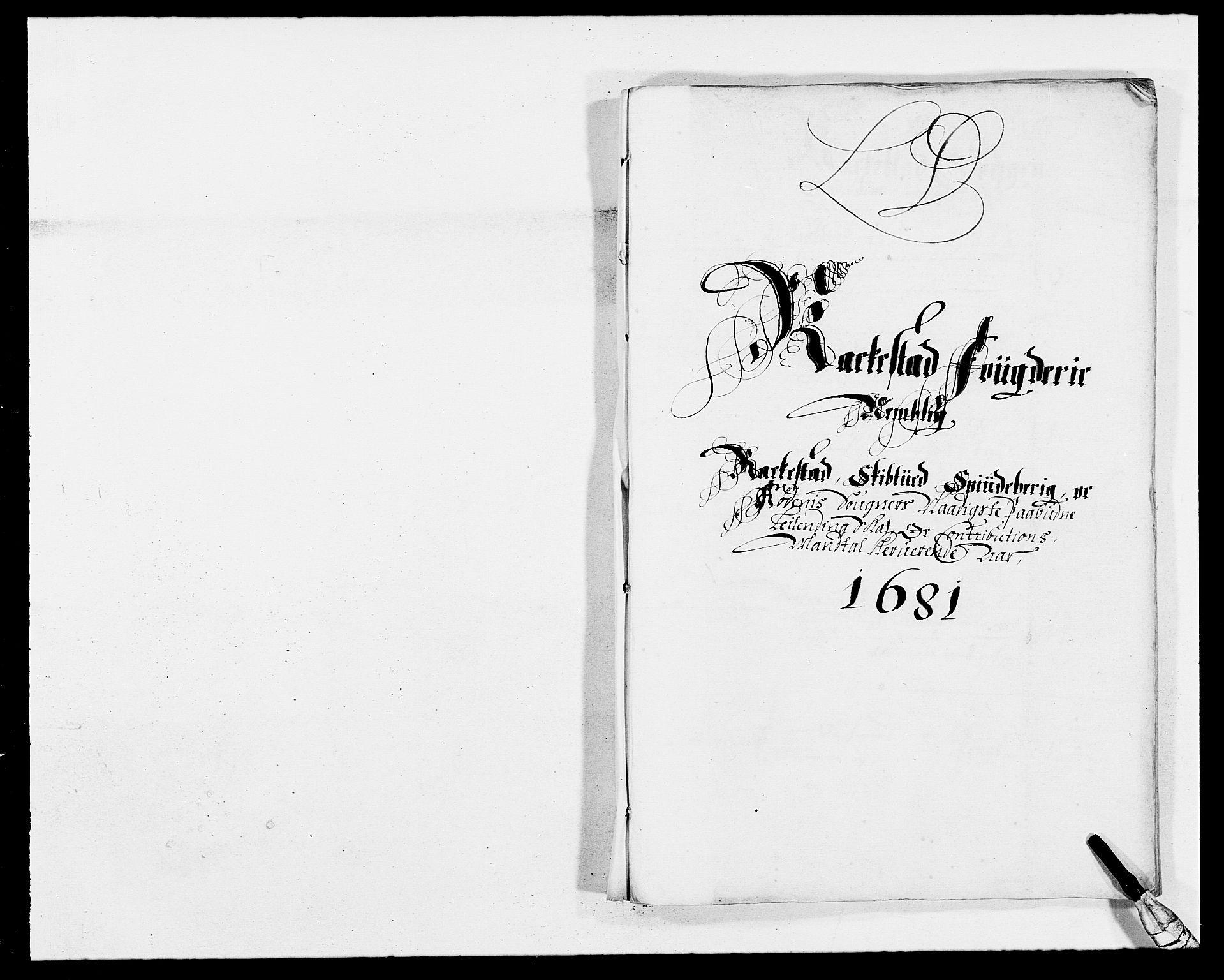 RA, Rentekammeret inntil 1814, Reviderte regnskaper, Fogderegnskap, R05/L0272: Fogderegnskap Rakkestad, 1680-1681, s. 255