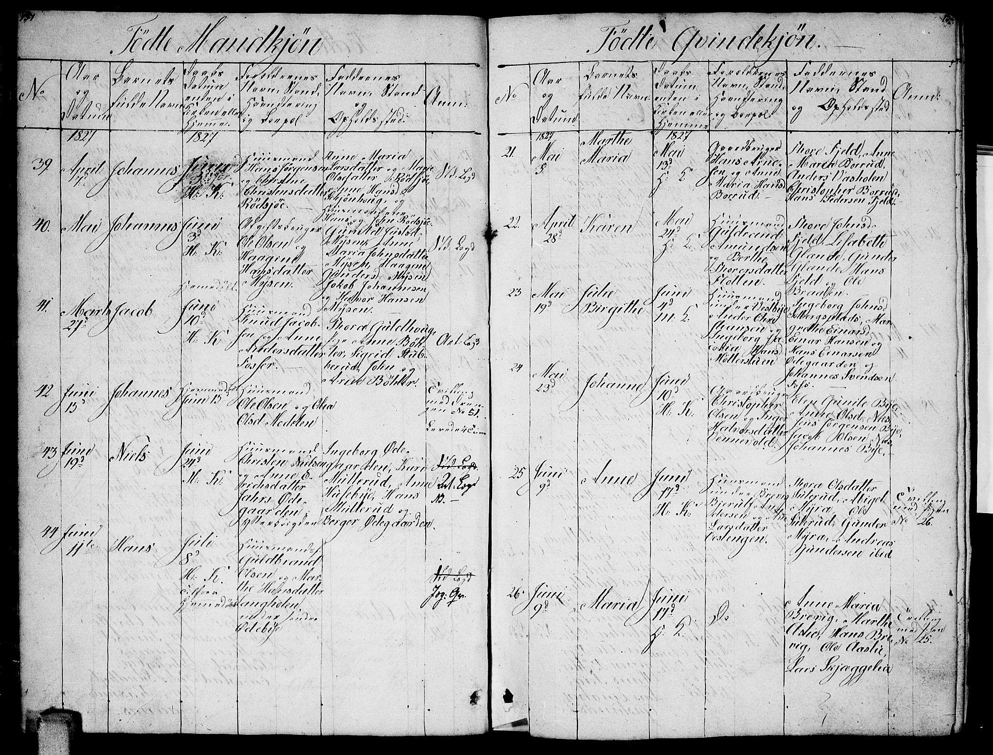 SAO, Enebakk prestekontor Kirkebøker, G/Ga/L0002: Klokkerbok nr. I 2, 1822-1833, s. 151-152