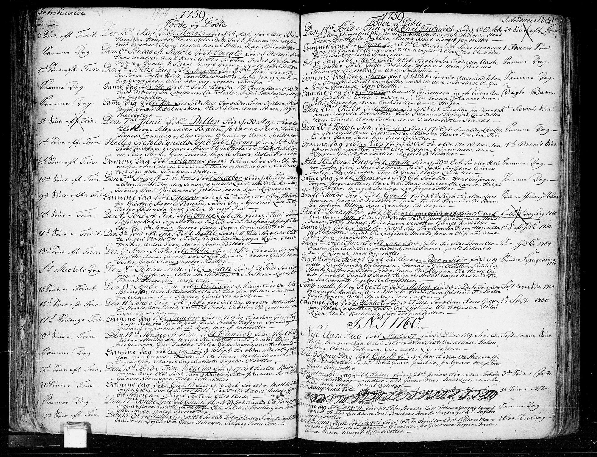 SAKO, Heddal kirkebøker, F/Fa/L0003: Ministerialbok nr. I 3, 1723-1783, s. 81
