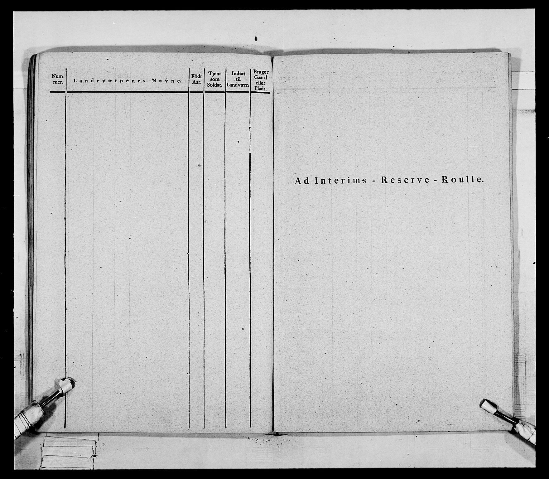RA, Generalitets- og kommissariatskollegiet, Det kongelige norske kommissariatskollegium, E/Eh/L0069: Opplandske gevorbne infanteriregiment, 1810-1818, s. 697