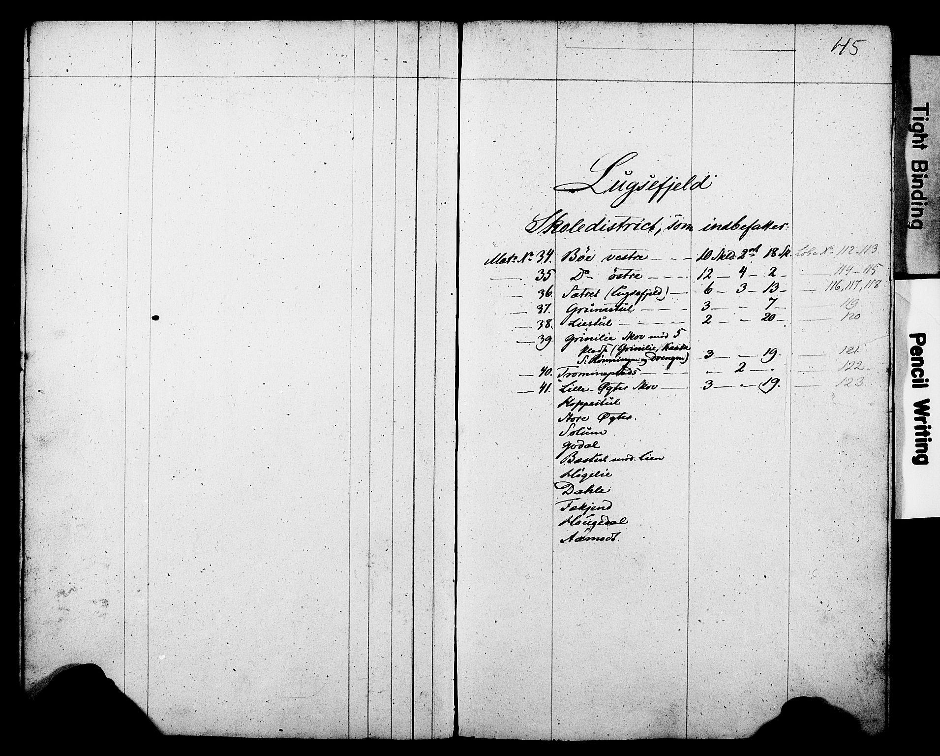 Folketelling 1845 for 0812P Gjerpen prestegjeld, 1845, s. 45