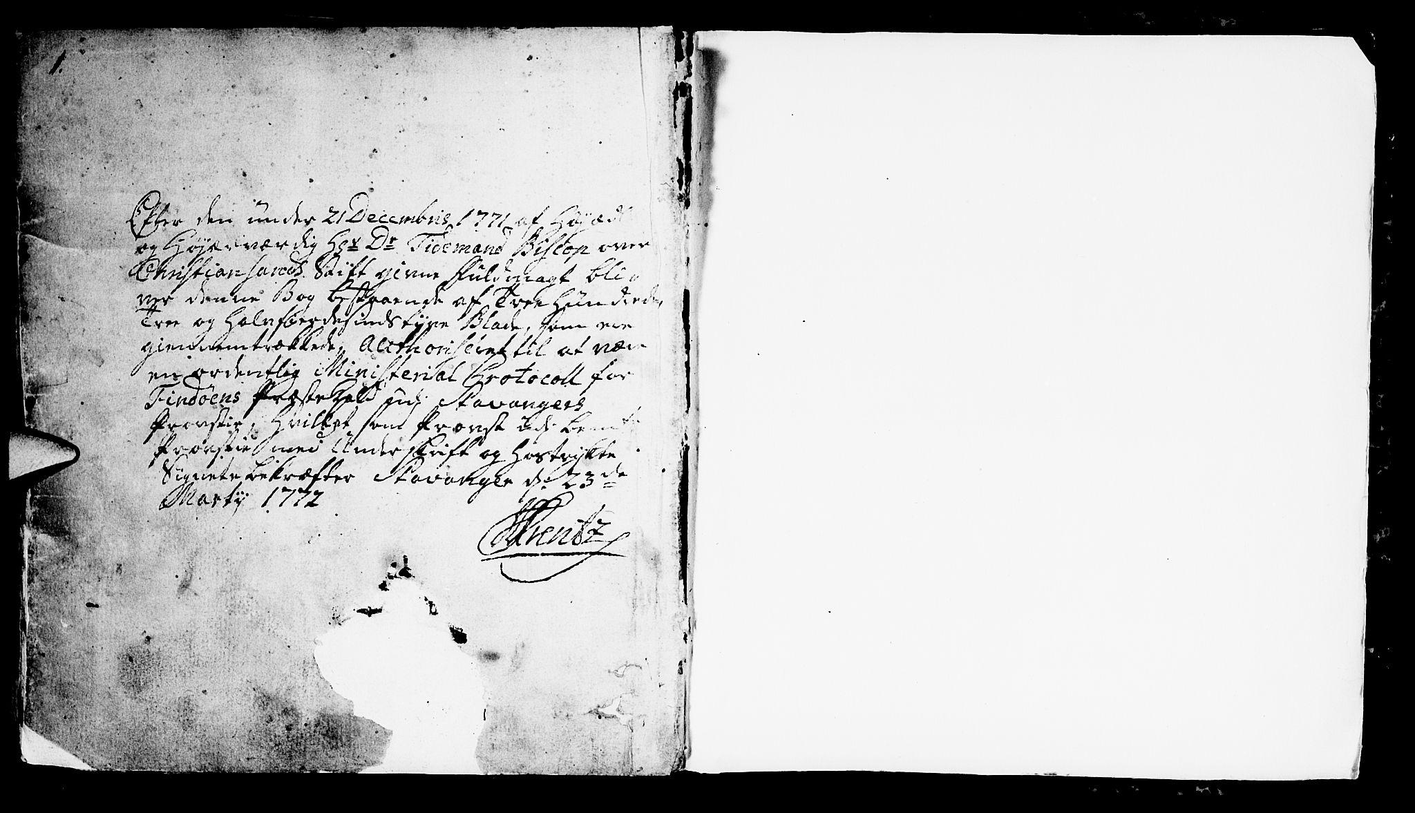 SAST, Finnøy sokneprestkontor, H/Ha/Haa/L0005: Ministerialbok nr. A 5, 1773-1816