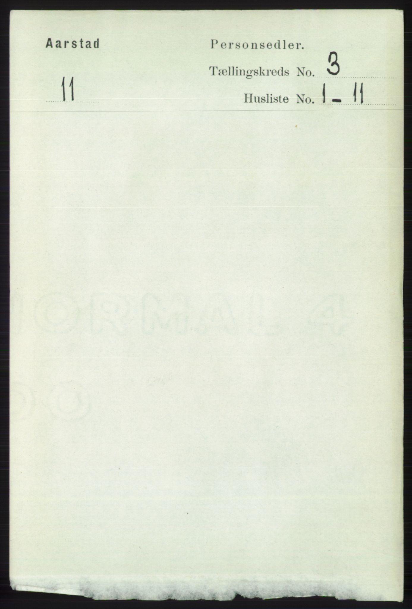 SAB, Folketelling 1891 for 1280 Årstad herred, 1891, s. 1569