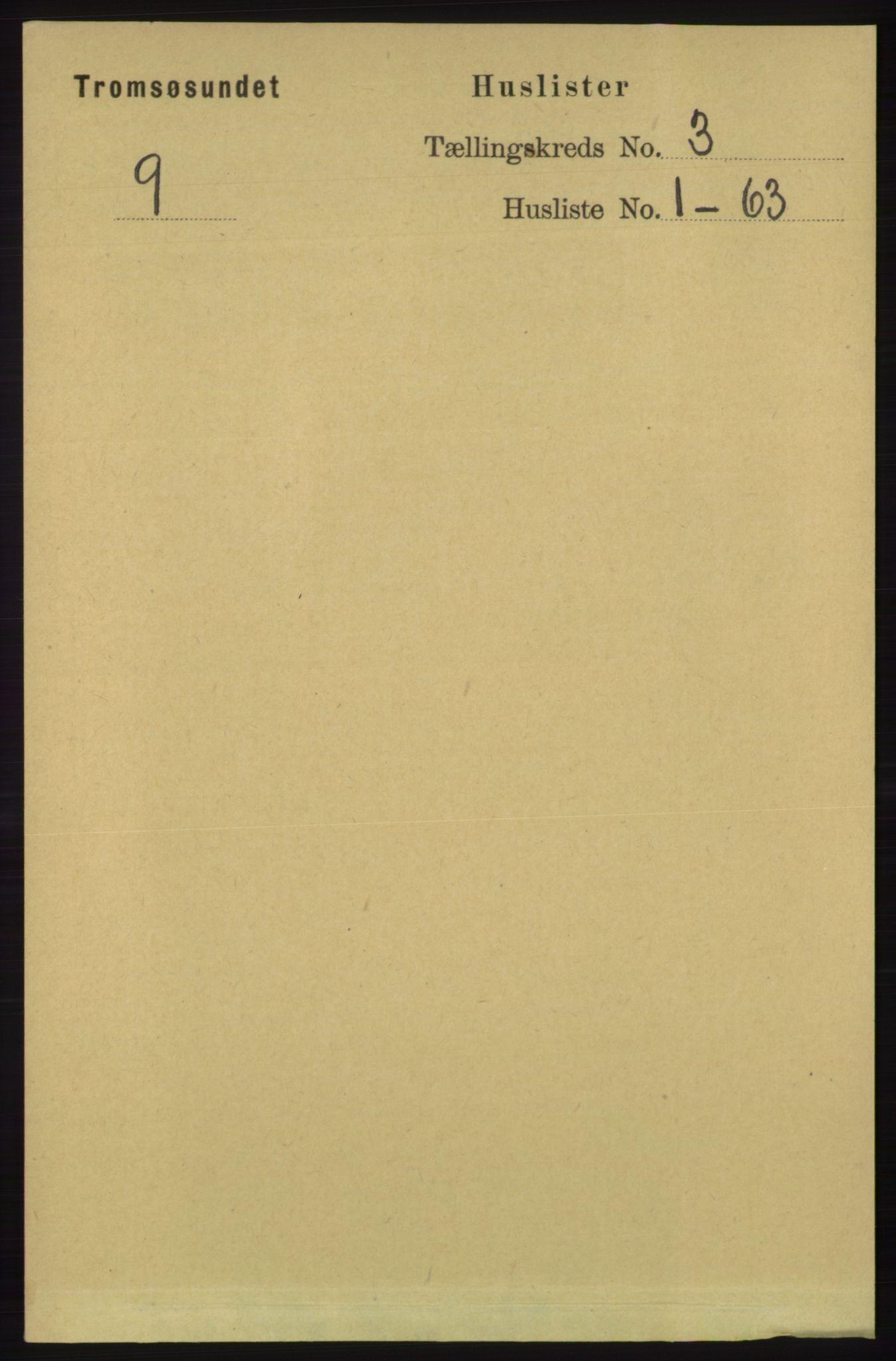 RA, Folketelling 1891 for 1934 Tromsøysund herred, 1891, s. 936