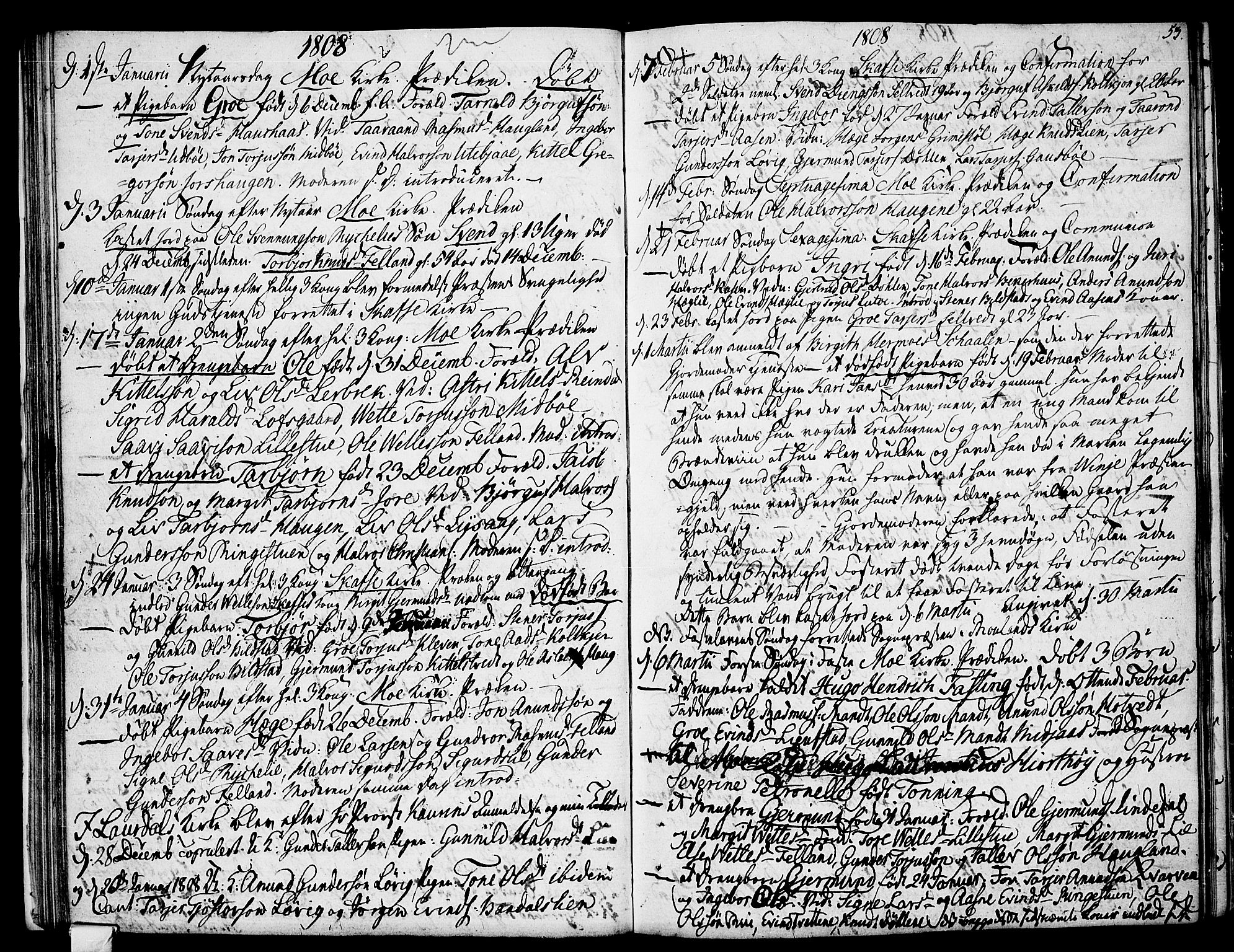 SAKO, Mo kirkebøker, F/Fa/L0003: Ministerialbok nr. I 3, 1800-1814, s. 53