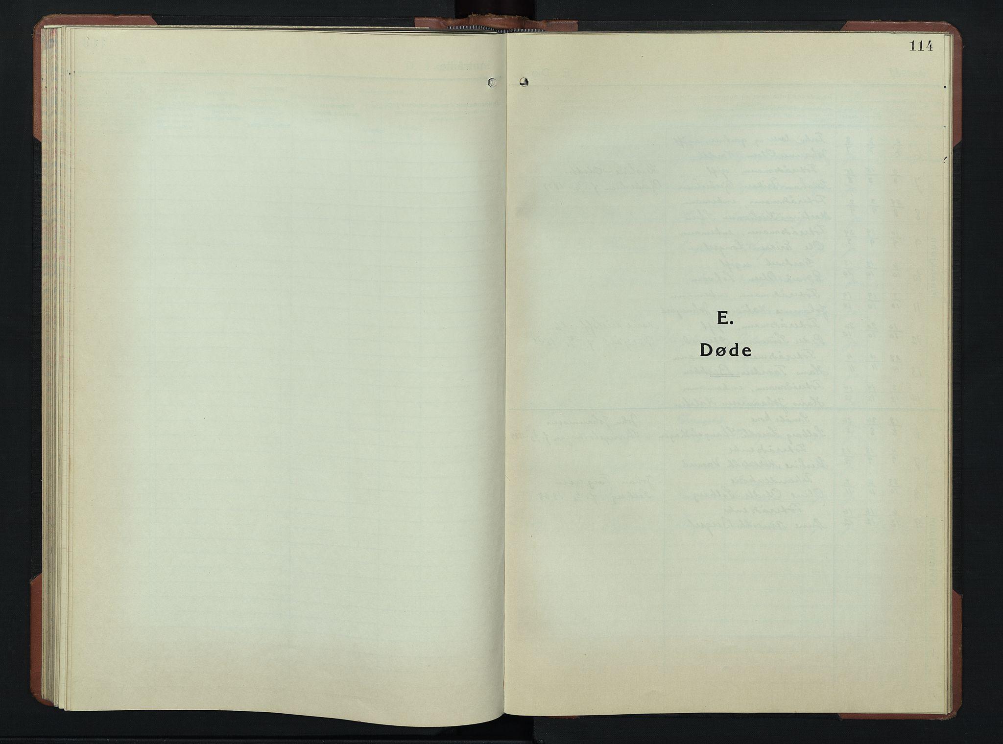 SAH, Øyer prestekontor, Klokkerbok nr. 9, 1939-1953, s. 114