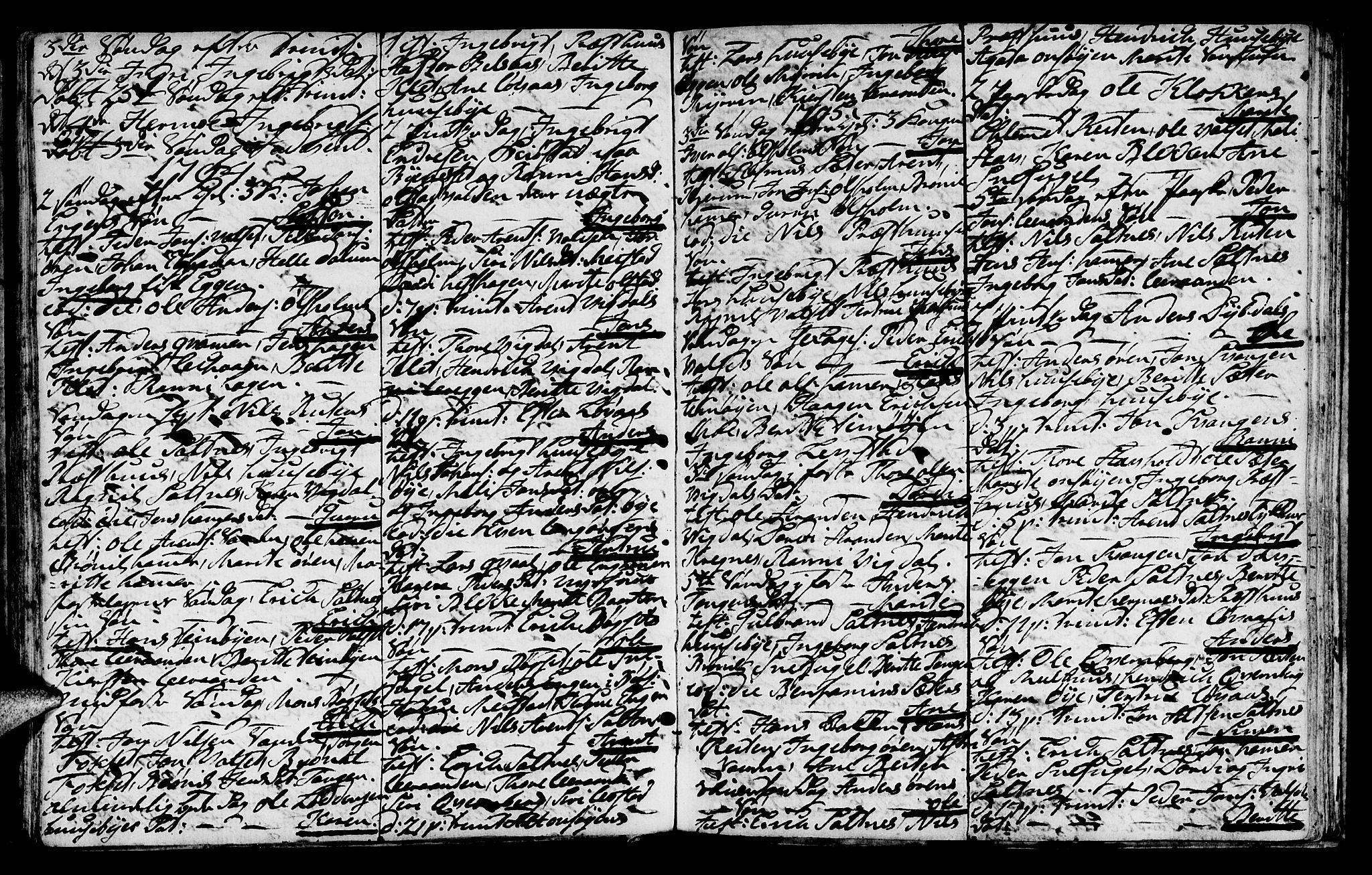 SAT, Ministerialprotokoller, klokkerbøker og fødselsregistre - Sør-Trøndelag, 666/L0784: Ministerialbok nr. 666A02, 1754-1802, s. 87