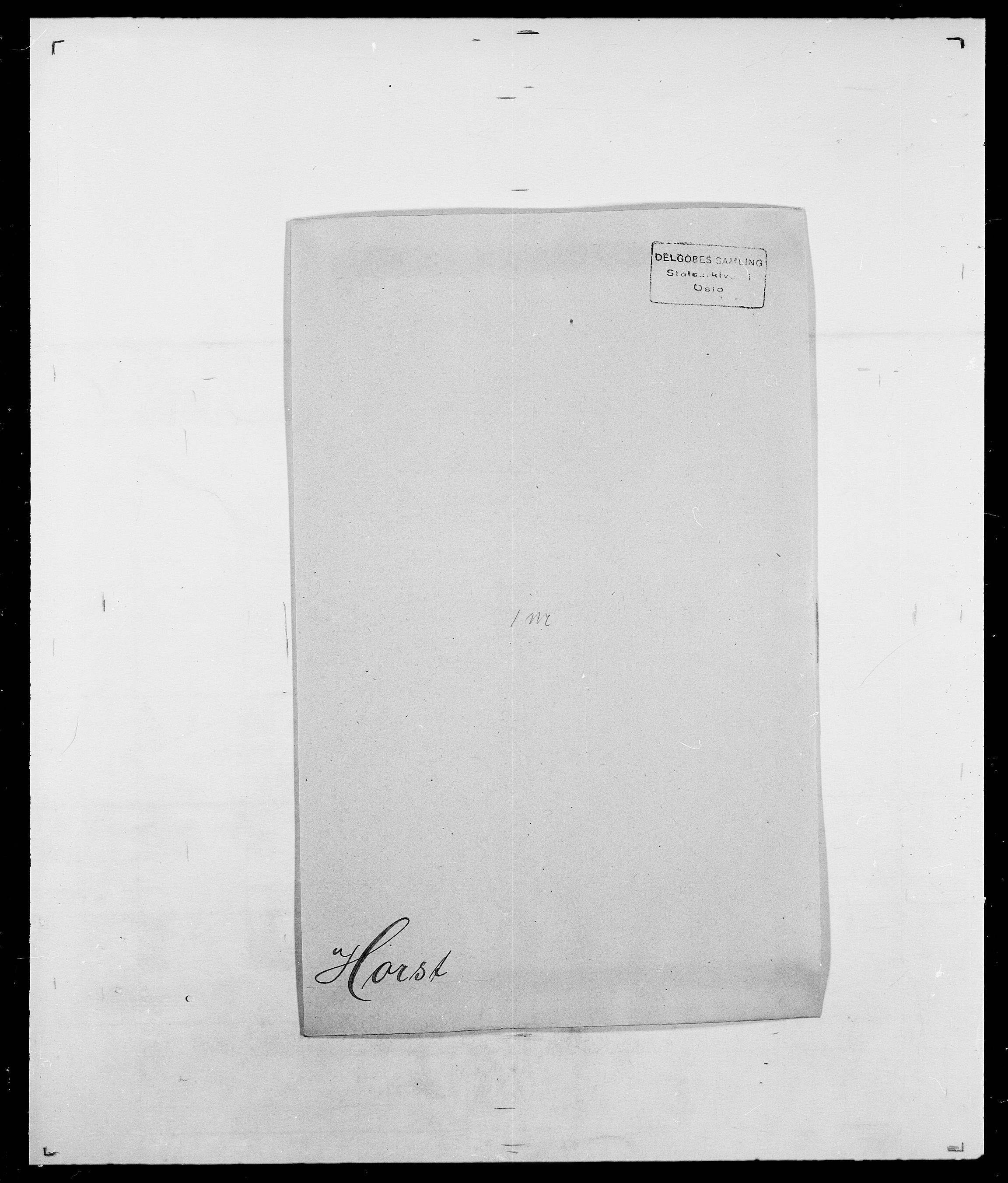 SAO, Delgobe, Charles Antoine - samling, D/Da/L0018: Hoch - Howert, s. 984