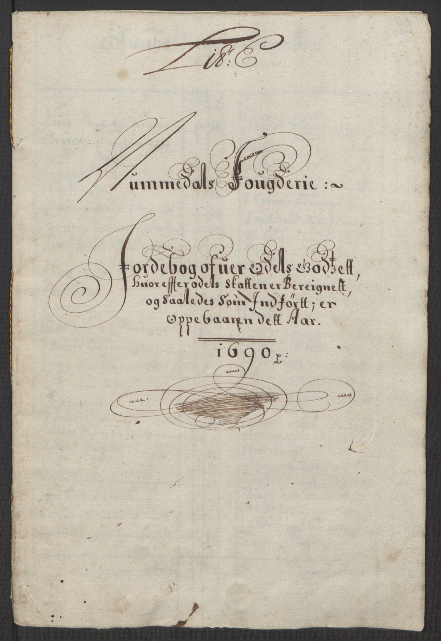 RA, Rentekammeret inntil 1814, Reviderte regnskaper, Fogderegnskap, R64/L4423: Fogderegnskap Namdal, 1690-1691, s. 28