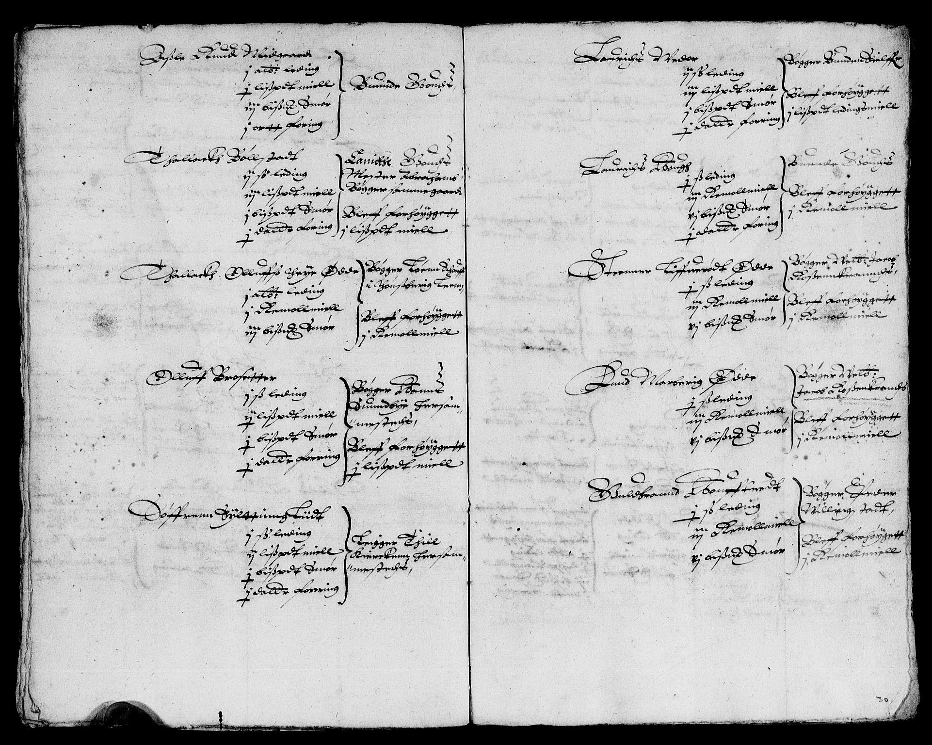RA, Rentekammeret inntil 1814, Reviderte regnskaper, Lensregnskaper, R/Rb/Rba/L0041: Akershus len, 1616-1618, s. upaginert