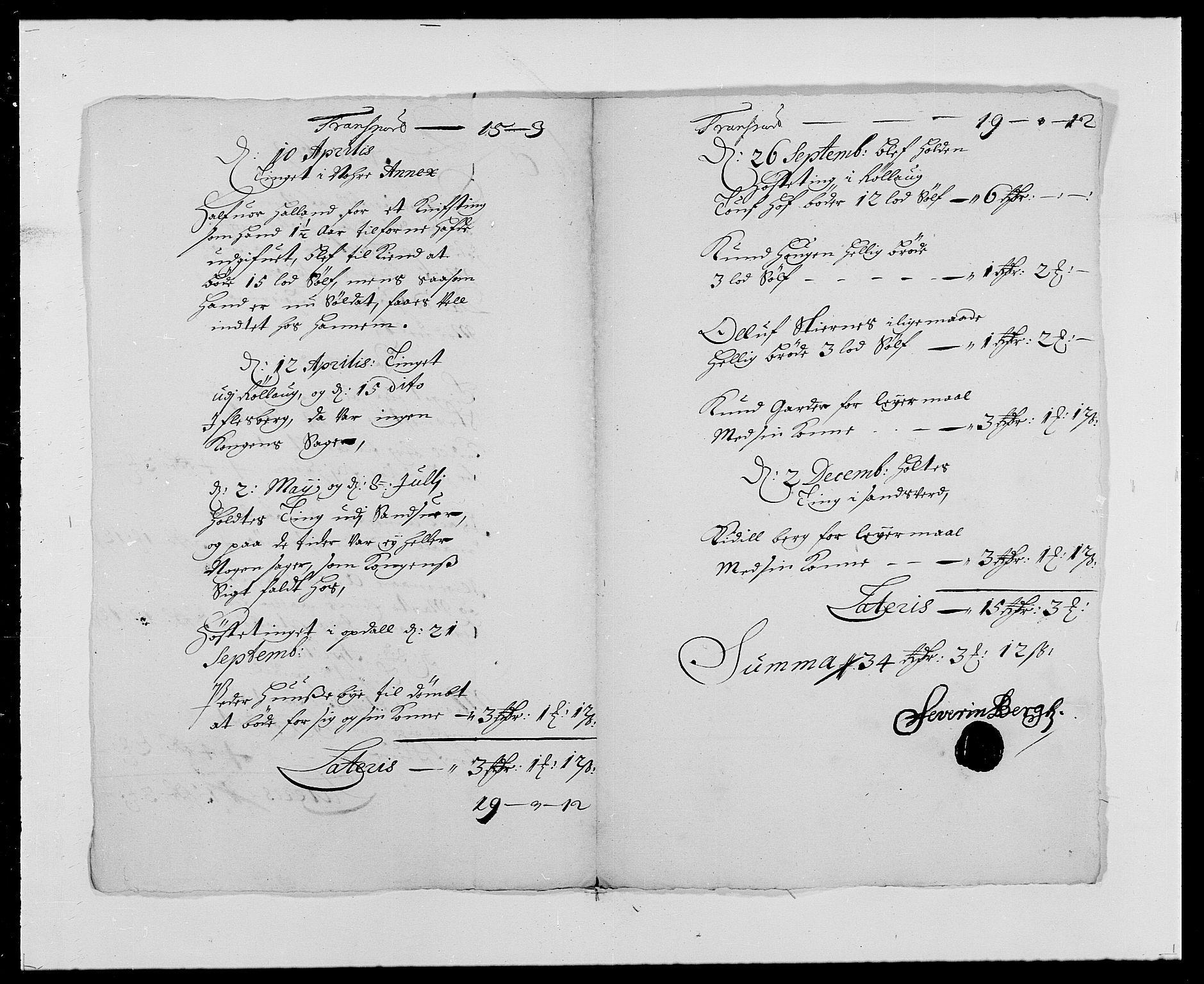 RA, Rentekammeret inntil 1814, Reviderte regnskaper, Fogderegnskap, R24/L1573: Fogderegnskap Numedal og Sandsvær, 1687-1691, s. 371