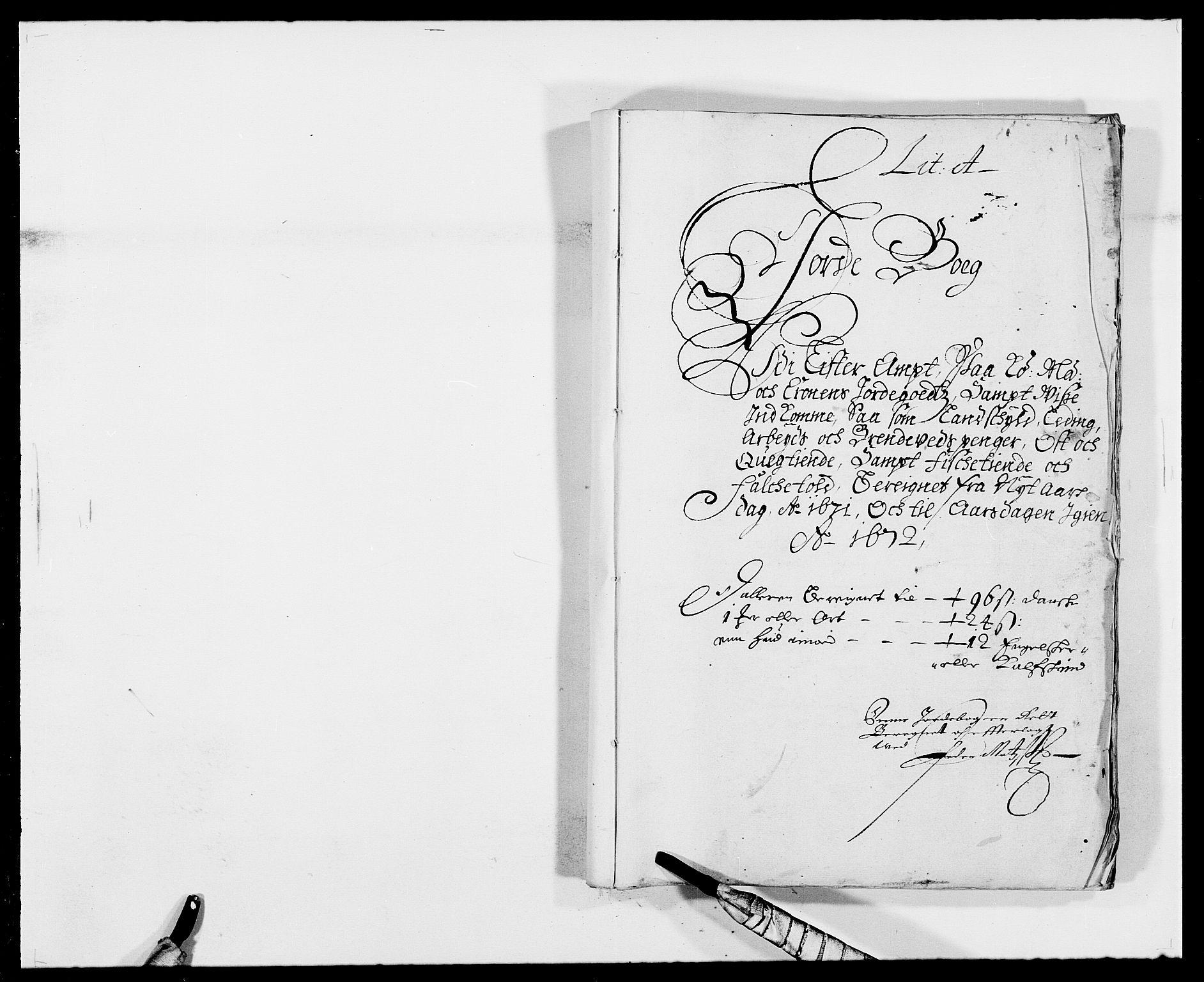 RA, Rentekammeret inntil 1814, Reviderte regnskaper, Fogderegnskap, R41/L2525: Fogderegnskap Lista, 1669-1671, s. 153