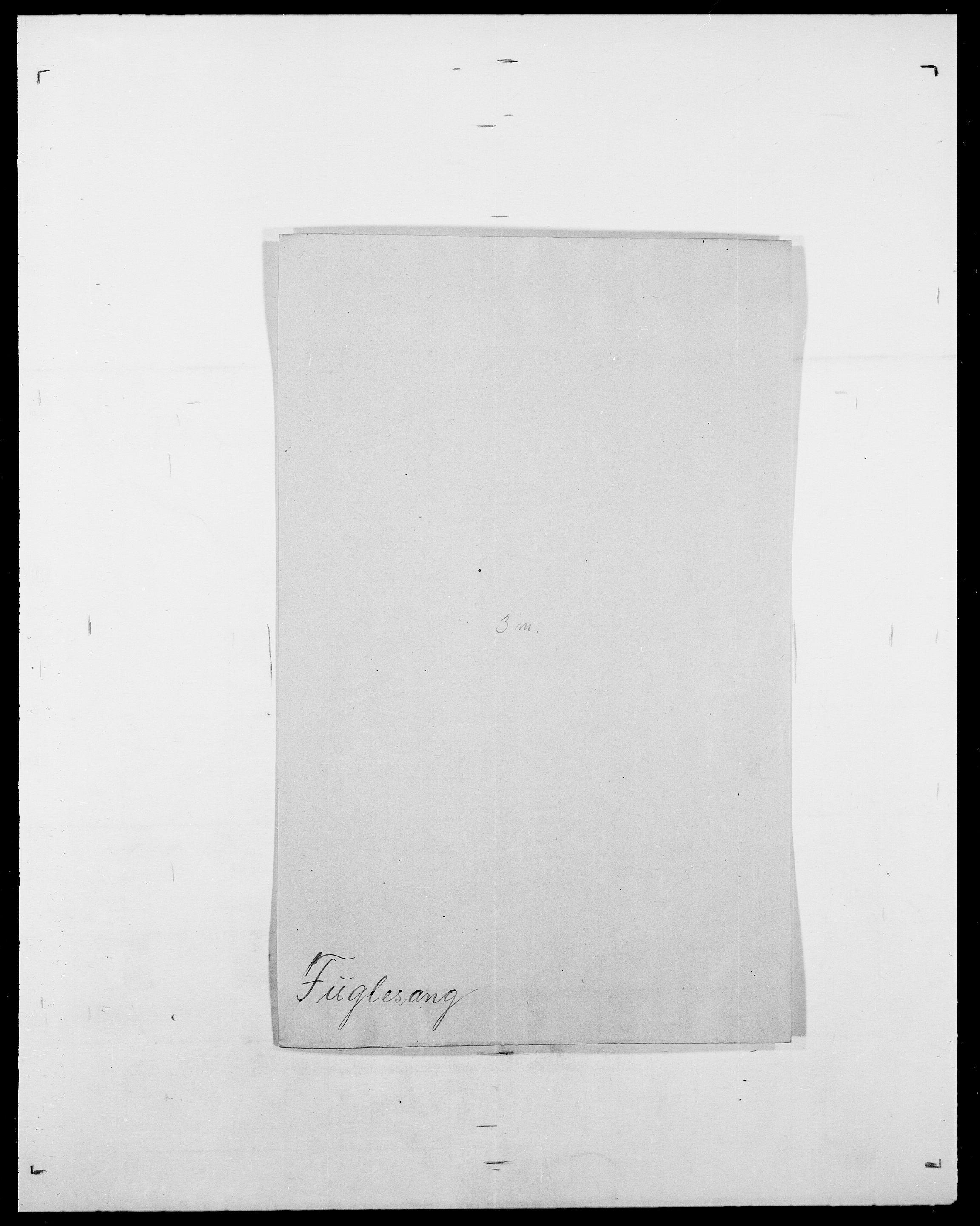SAO, Delgobe, Charles Antoine - samling, D/Da/L0013: Forbos - Geving, s. 163