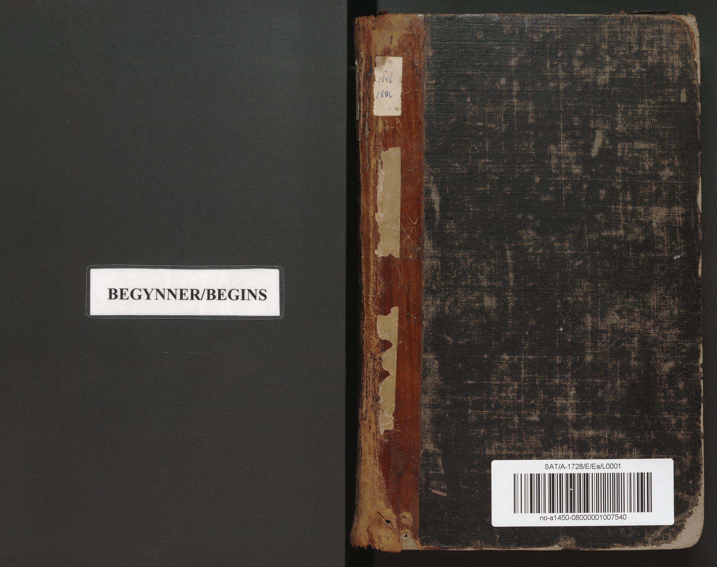 SAT, Norges Brannkasse Mo, E/Ea/L0001: Branntakstforretning, 1846-1886