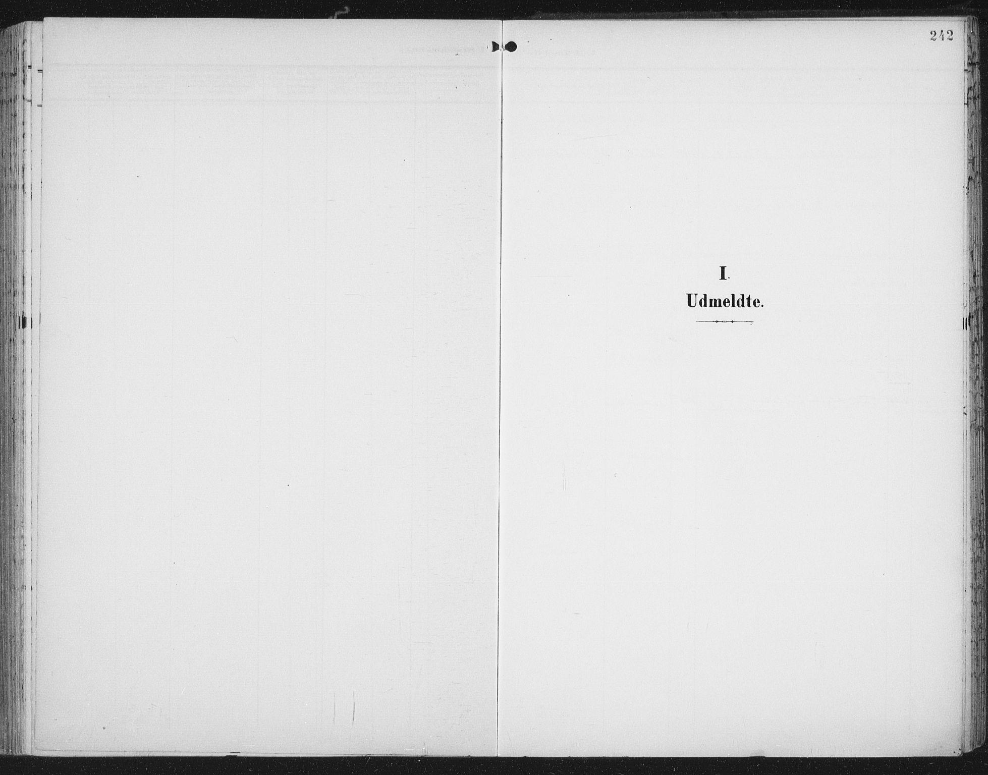 SAT, Ministerialprotokoller, klokkerbøker og fødselsregistre - Nord-Trøndelag, 701/L0011: Ministerialbok nr. 701A11, 1899-1915, s. 242
