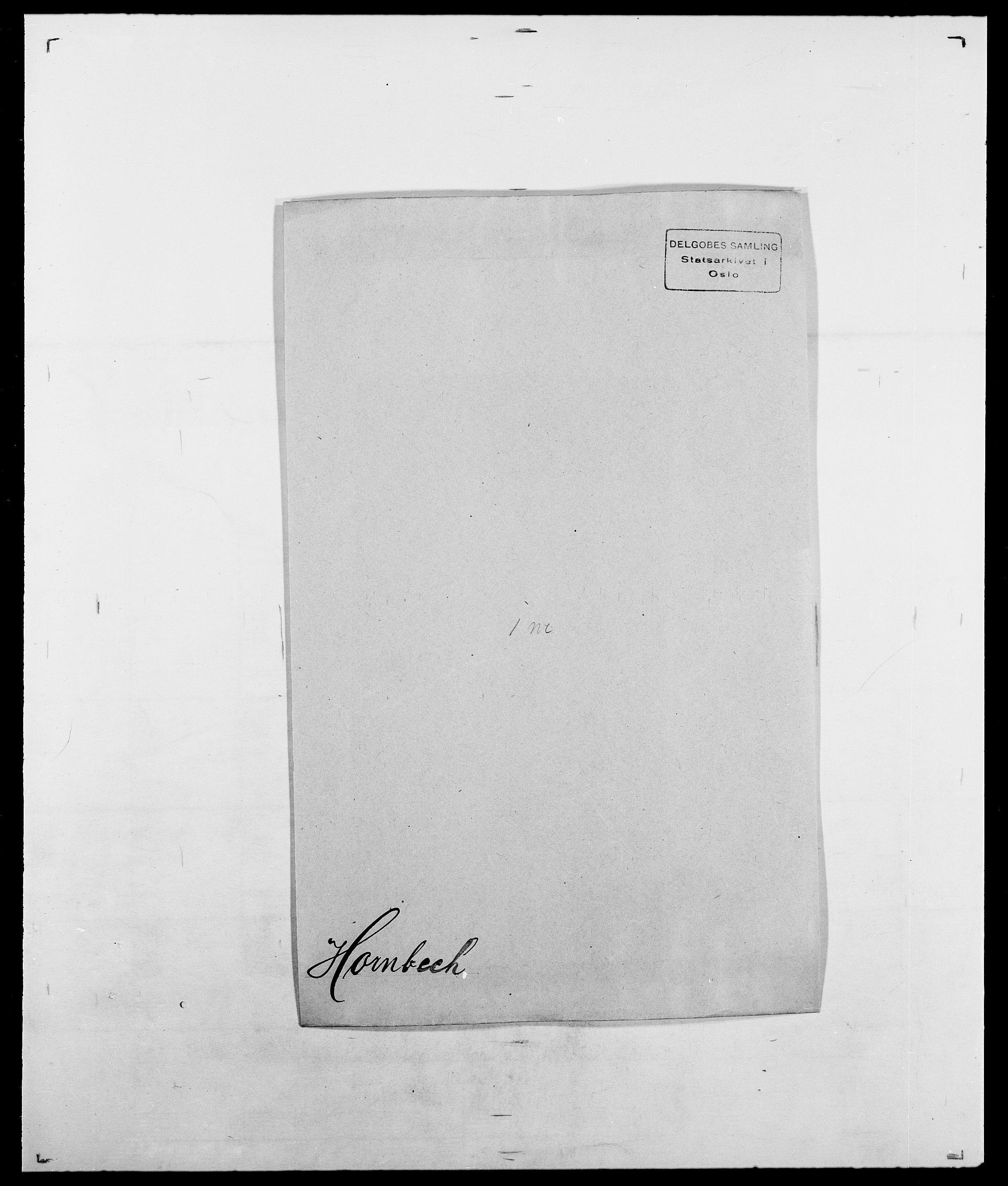 SAO, Delgobe, Charles Antoine - samling, D/Da/L0018: Hoch - Howert, s. 942