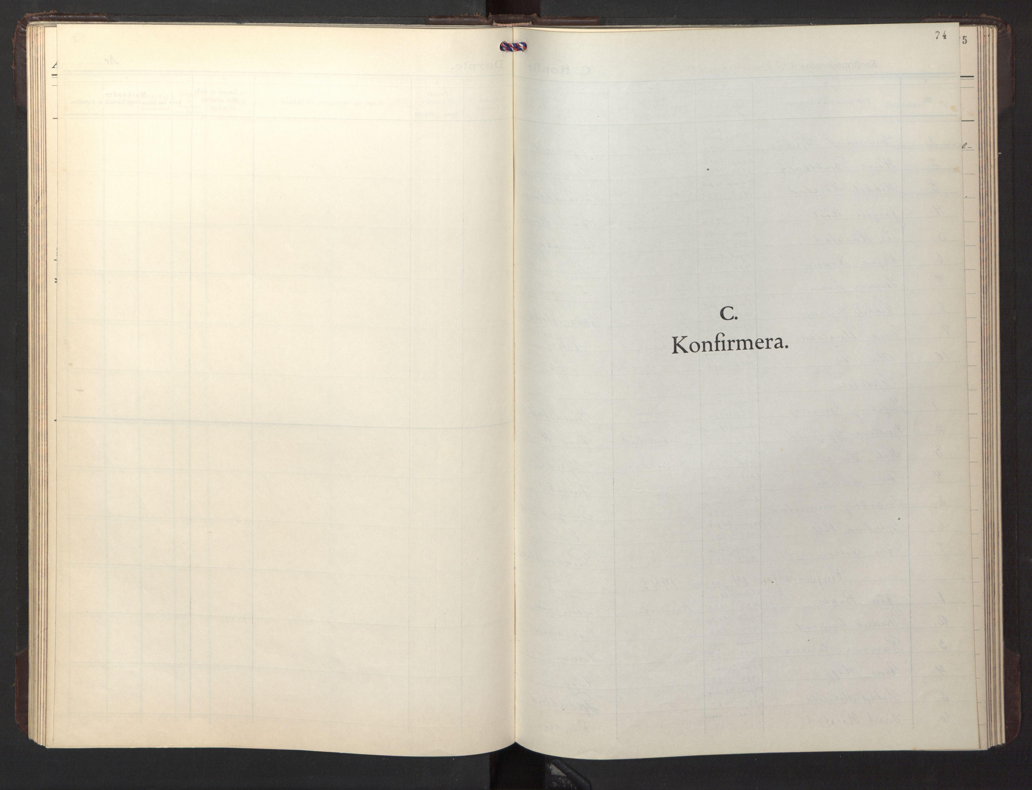 SAT, Ministerialprotokoller, klokkerbøker og fødselsregistre - Sør-Trøndelag, 674/L0878: Klokkerbok nr. 674C05, 1941-1950, s. 74