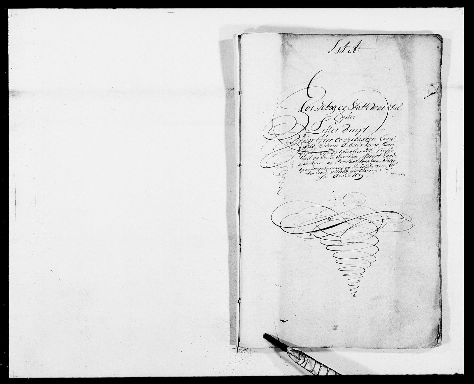 RA, Rentekammeret inntil 1814, Reviderte regnskaper, Fogderegnskap, R41/L2530: Fogderegnskap Lista, 1677-1679, s. 304