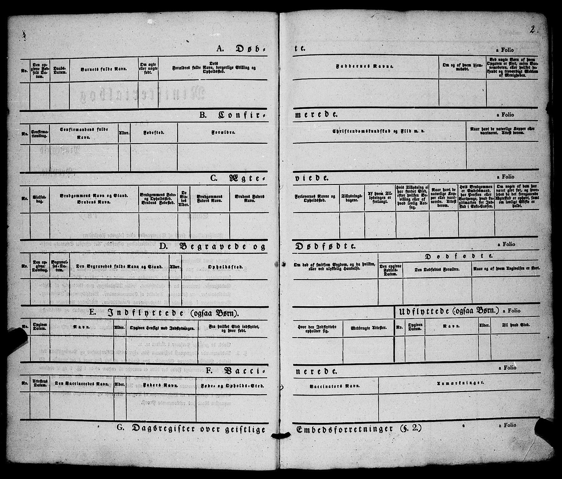 SAKO, Hjartdal kirkebøker, F/Fa/L0008: Ministerialbok nr. I 8, 1844-1859, s. 2