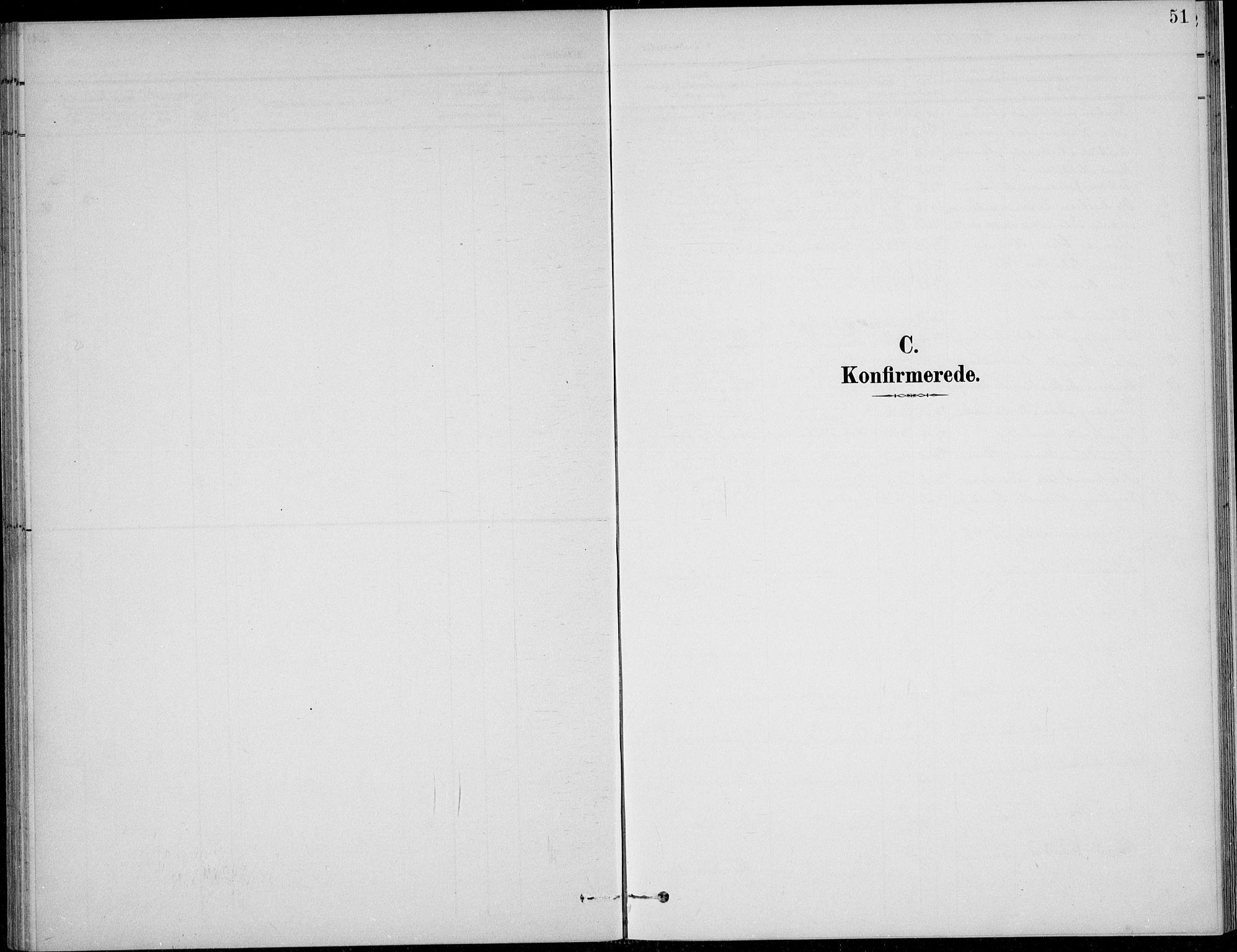 SAH, Nordre Land prestekontor, Klokkerbok nr. 14, 1891-1907, s. 51