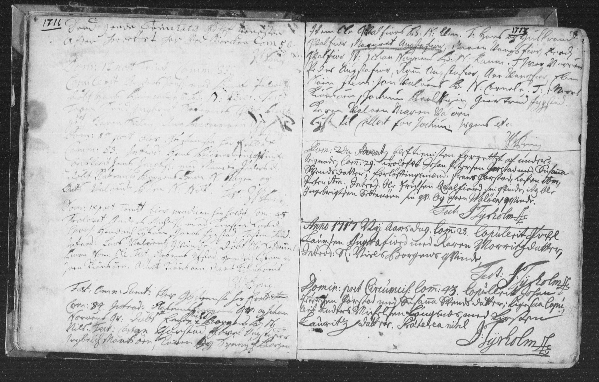SAT, Ministerialprotokoller, klokkerbøker og fødselsregistre - Nord-Trøndelag, 786/L0685: Ministerialbok nr. 786A01, 1710-1798, s. 9