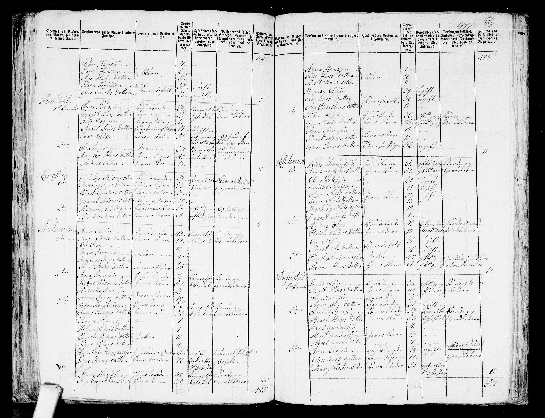 RA, Folketelling 1801 for 1541P Veøy prestegjeld, 1801, s. 392b-393a
