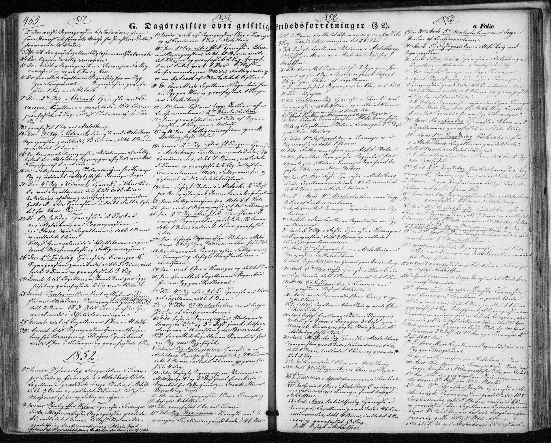 SAT, Ministerialprotokoller, klokkerbøker og fødselsregistre - Nord-Trøndelag, 717/L0154: Ministerialbok nr. 717A07 /1, 1850-1862, s. 455