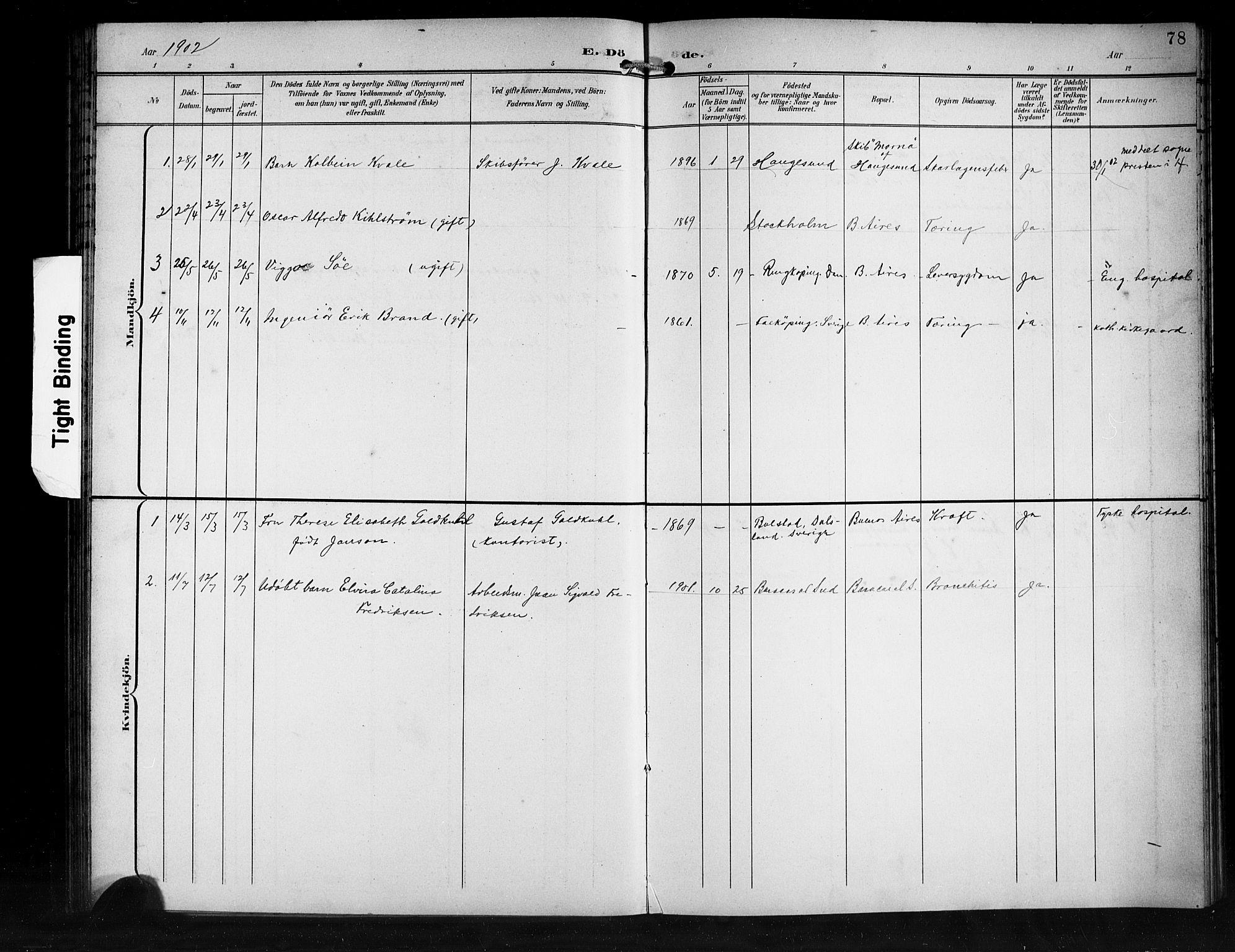SAB, Den Norske Sjømannsmisjon i utlandet*, Ministerialbok nr. A 2, 1899-1919, s. 78