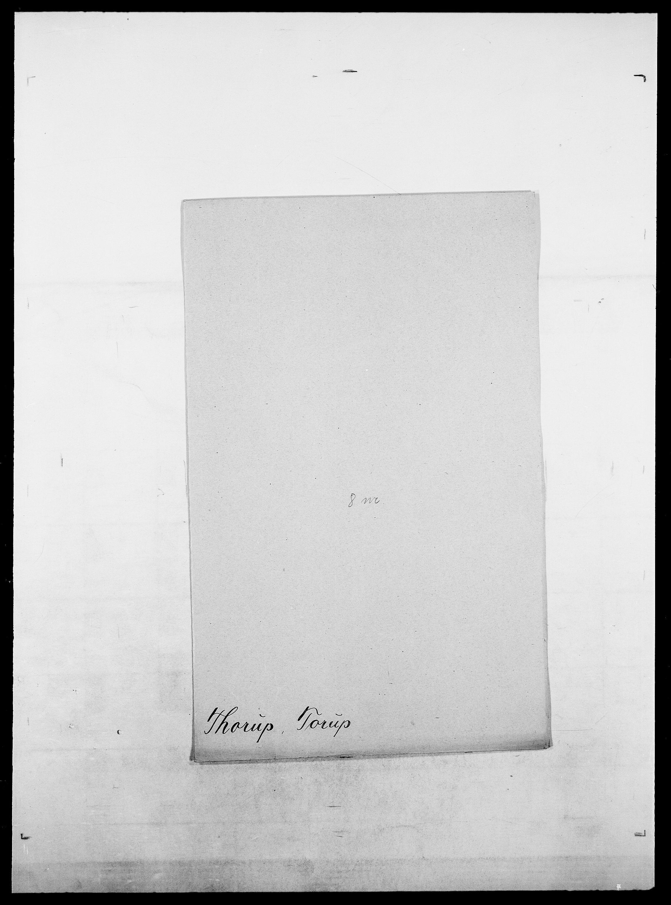 SAO, Delgobe, Charles Antoine - samling, D/Da/L0038: Svanenskjold - Thornsohn, s. 915