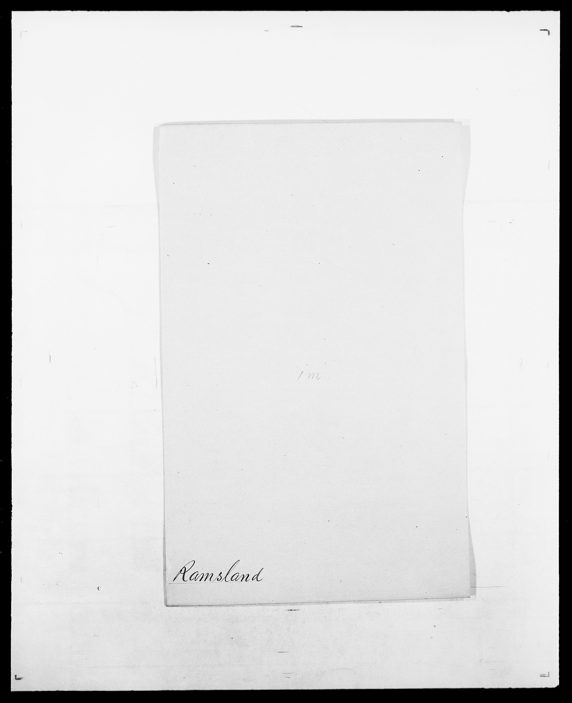 SAO, Delgobe, Charles Antoine - samling, D/Da/L0032: Rabakovsky - Rivertz, s. 88